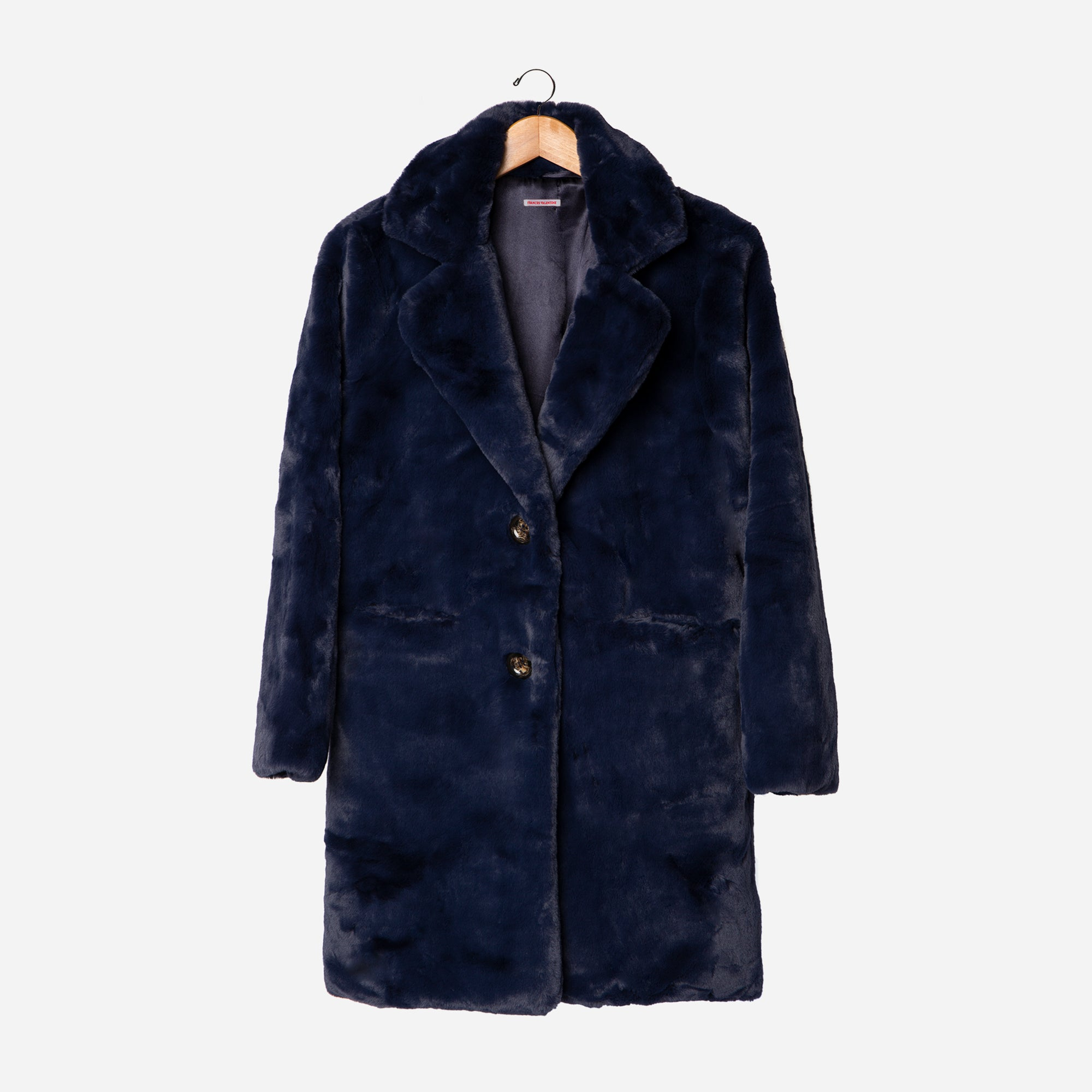 Caline Coat Navy