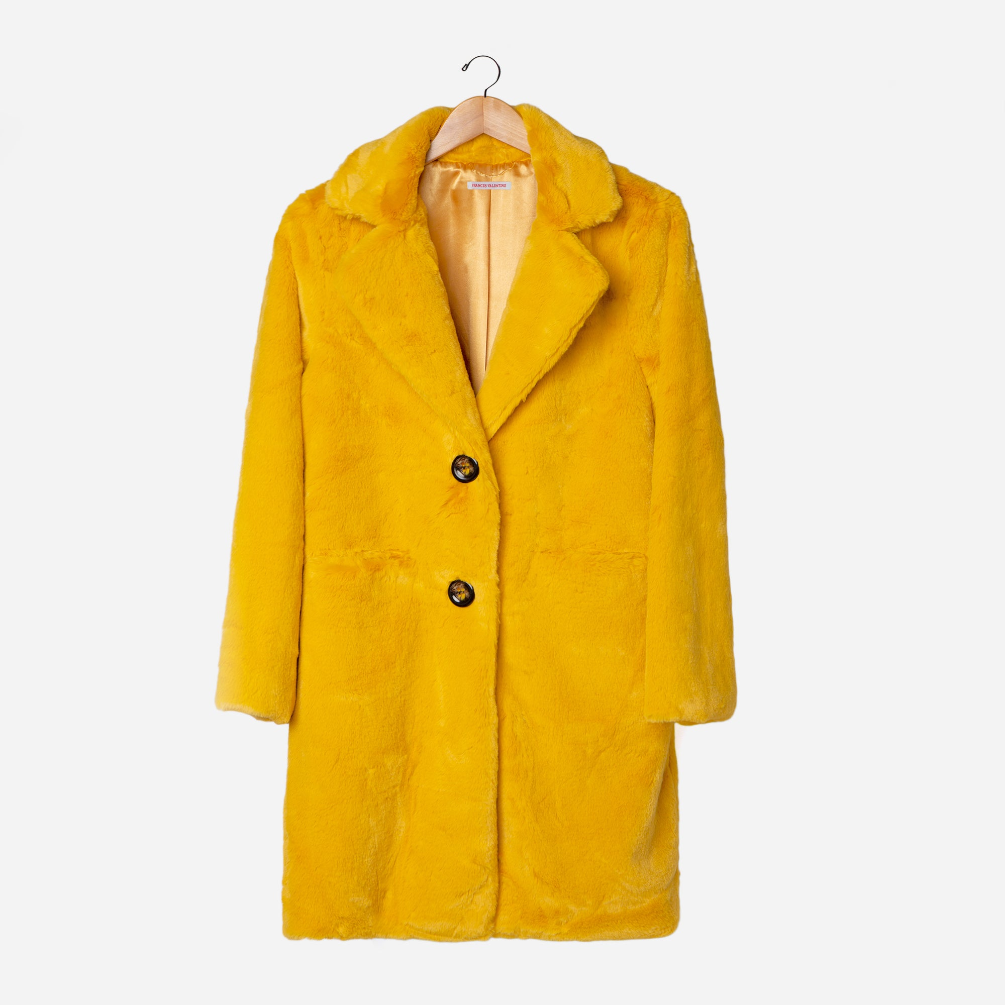 Cozy Coat Tumeric