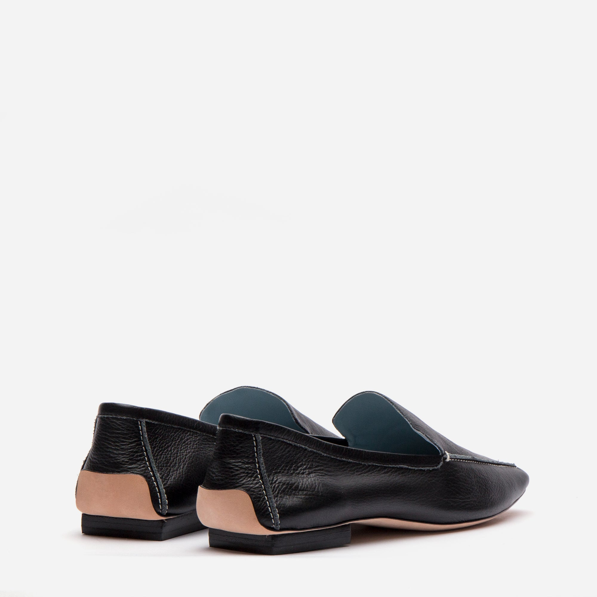 Elyce Loafers Black Leather