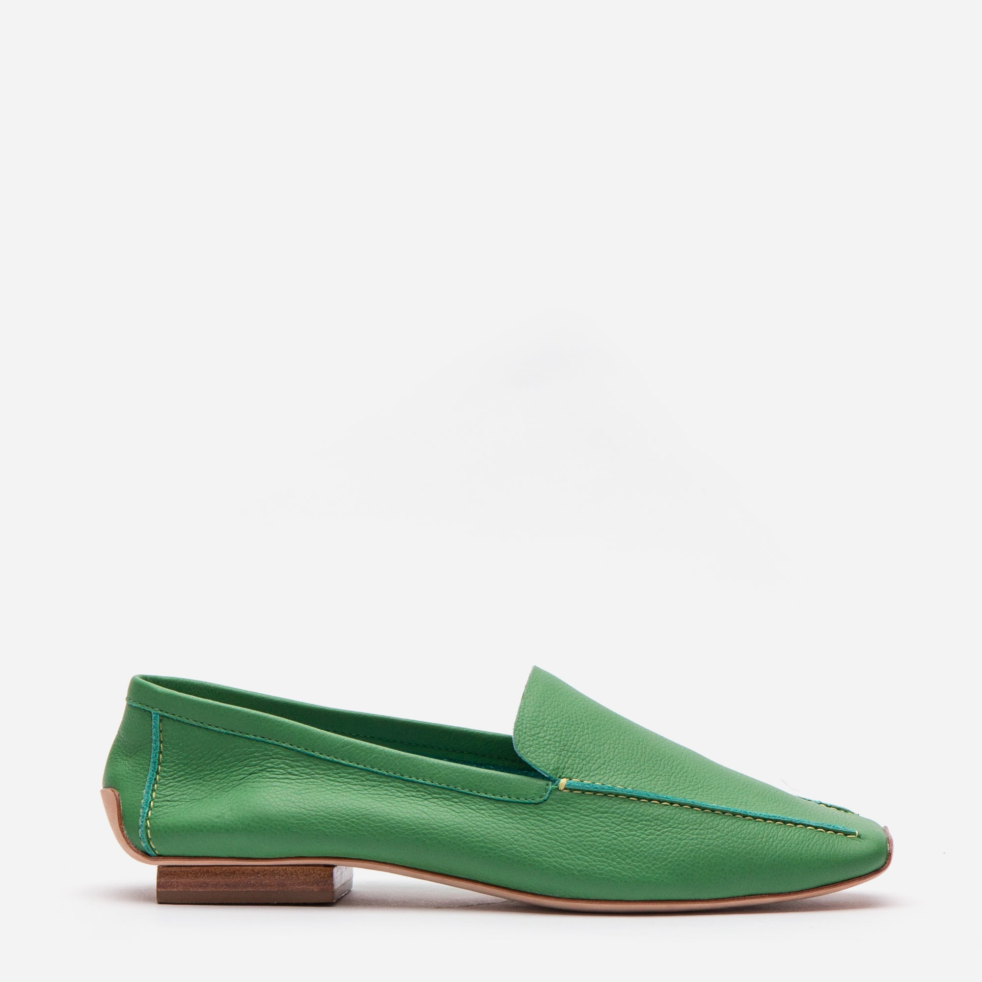 Elyce Loafers Grass Leather