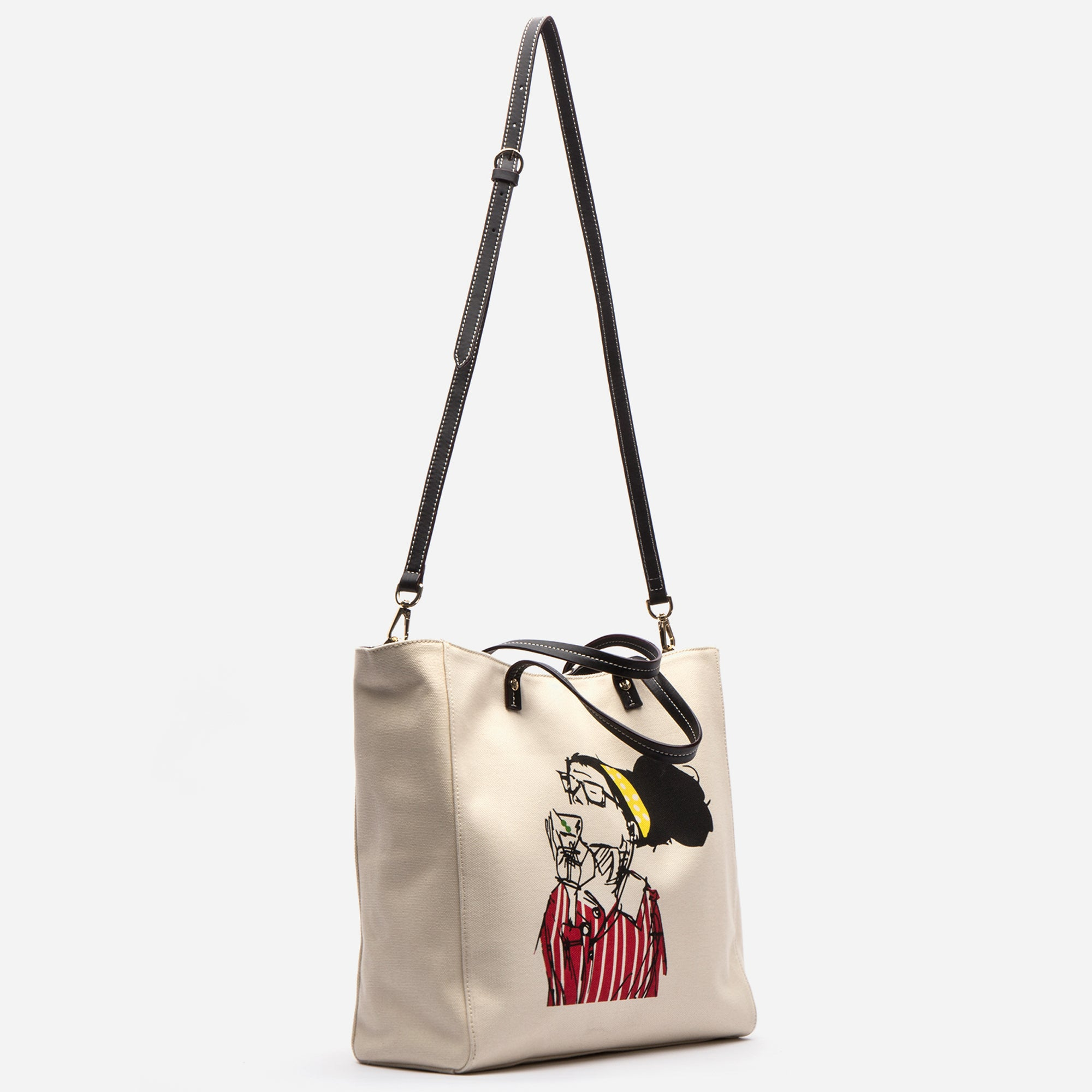 Large Margaret Canvas Katy Tote