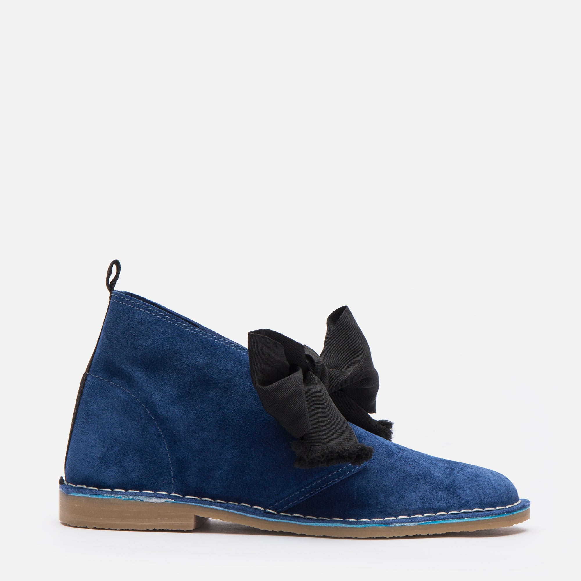 Trip Suede Boots Blue