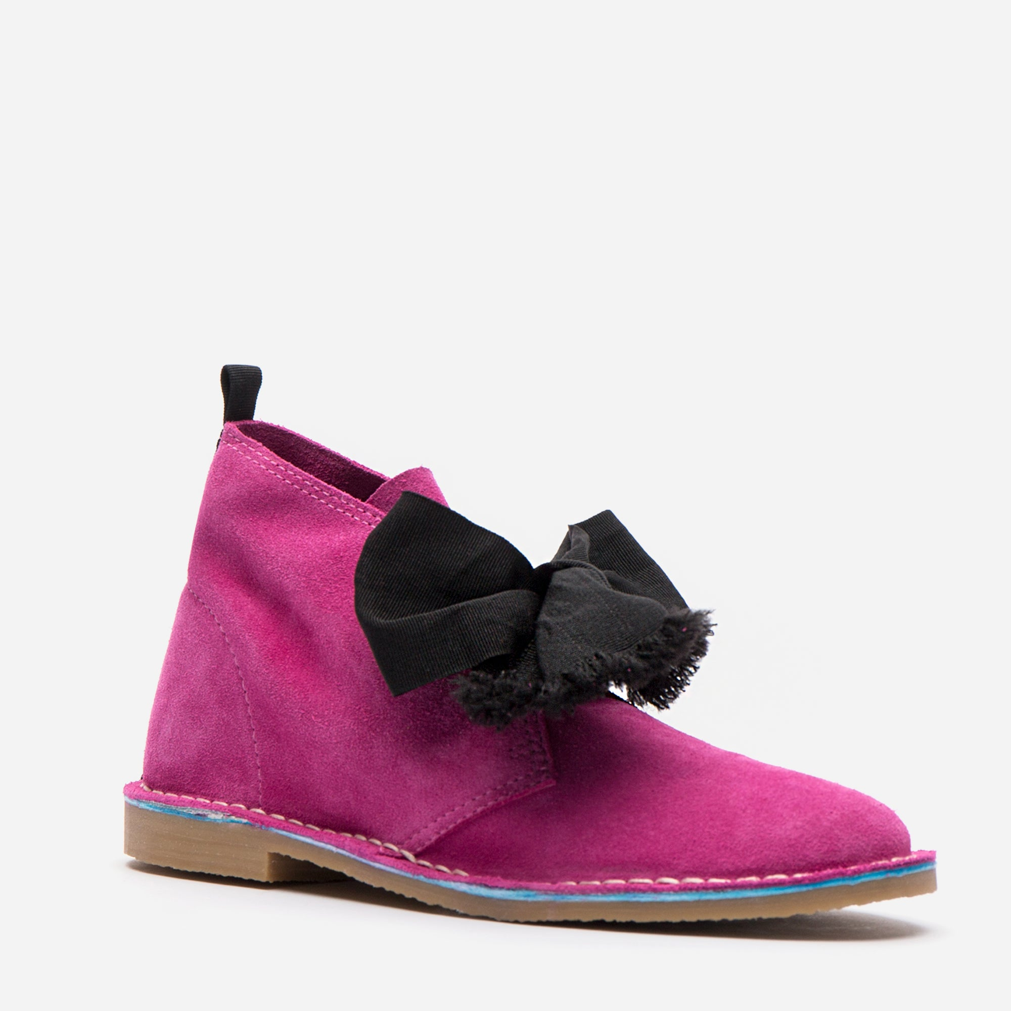 Trip Suede Boots Pink