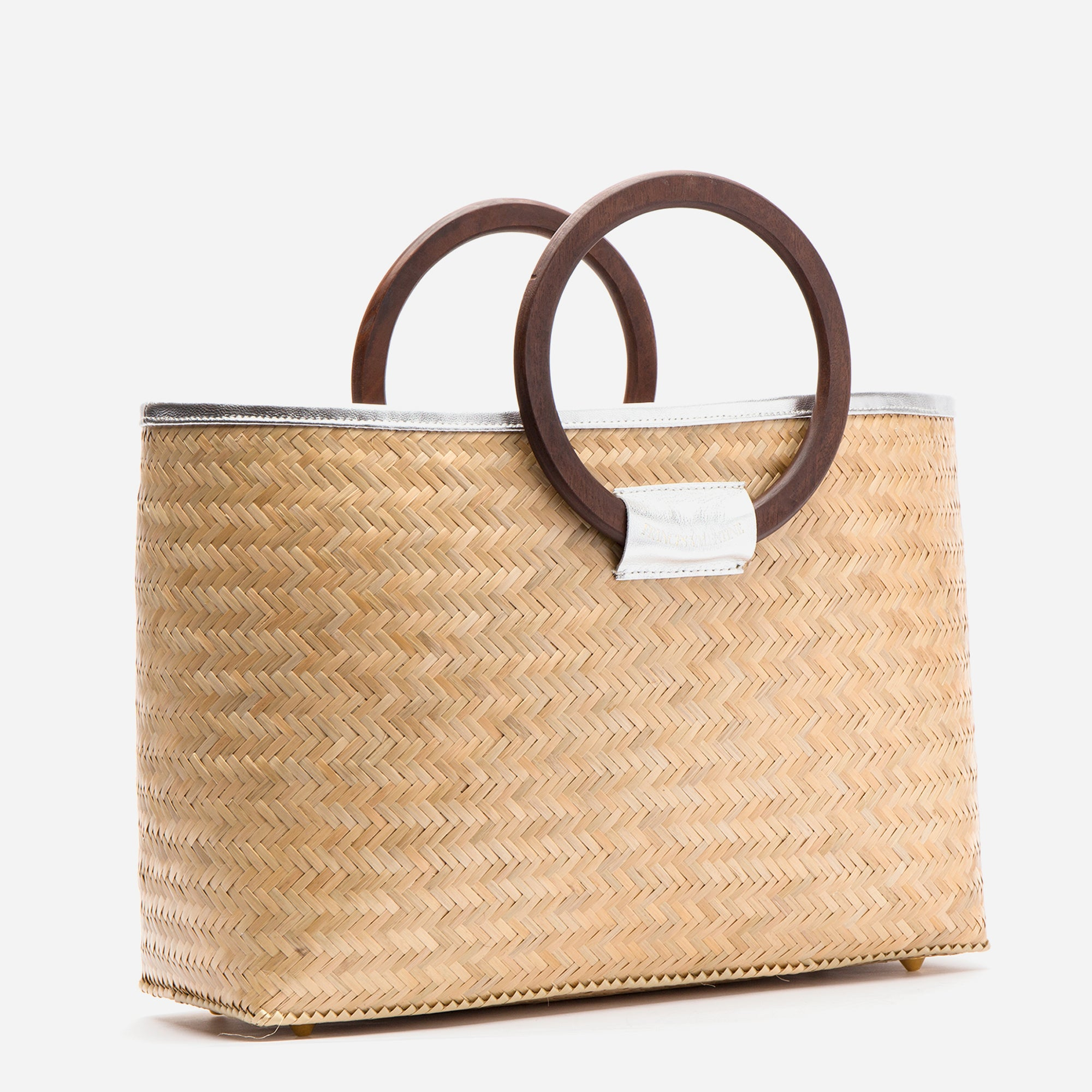 Large Bamboo Basket Natural