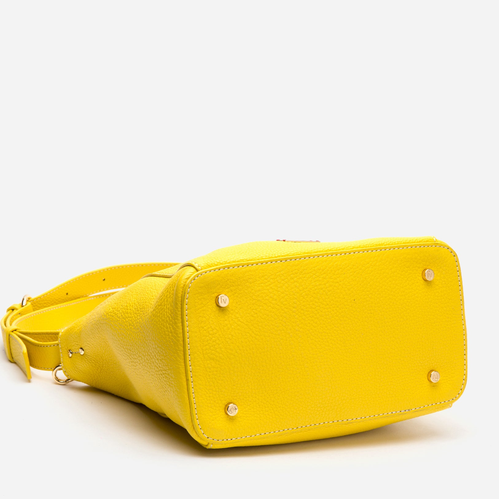 Small June Tumbled Leather Canary