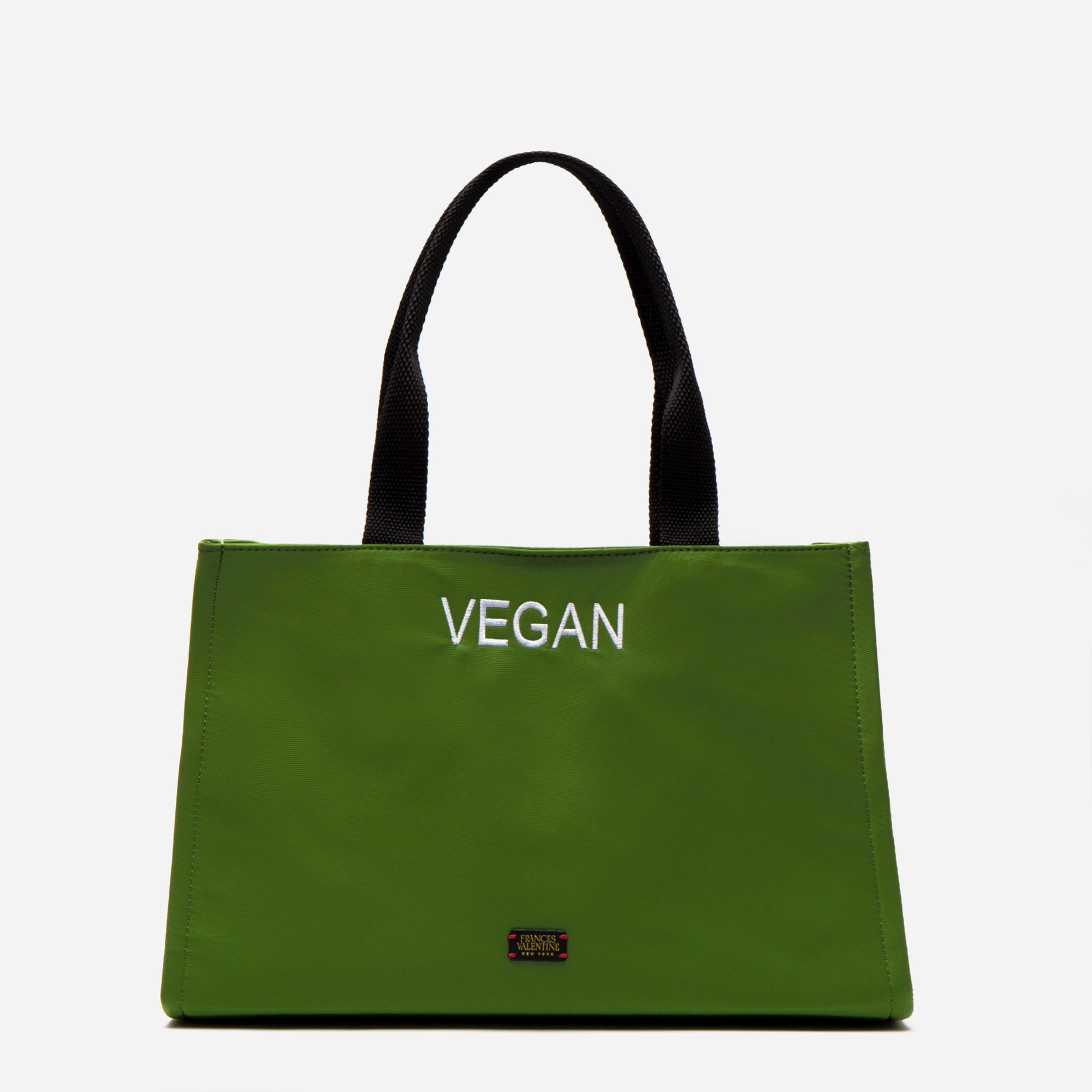 Limited Edition Embroidered Kate Shoulder Tote Vegan