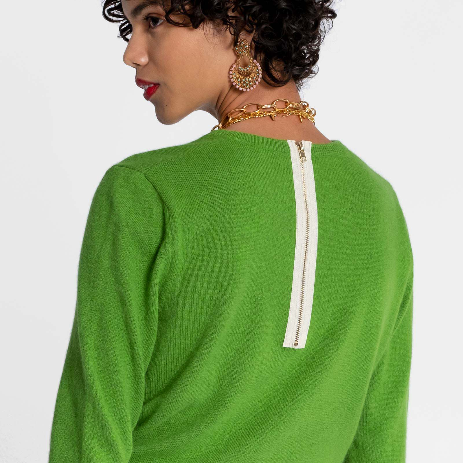 Honey Sweater Green