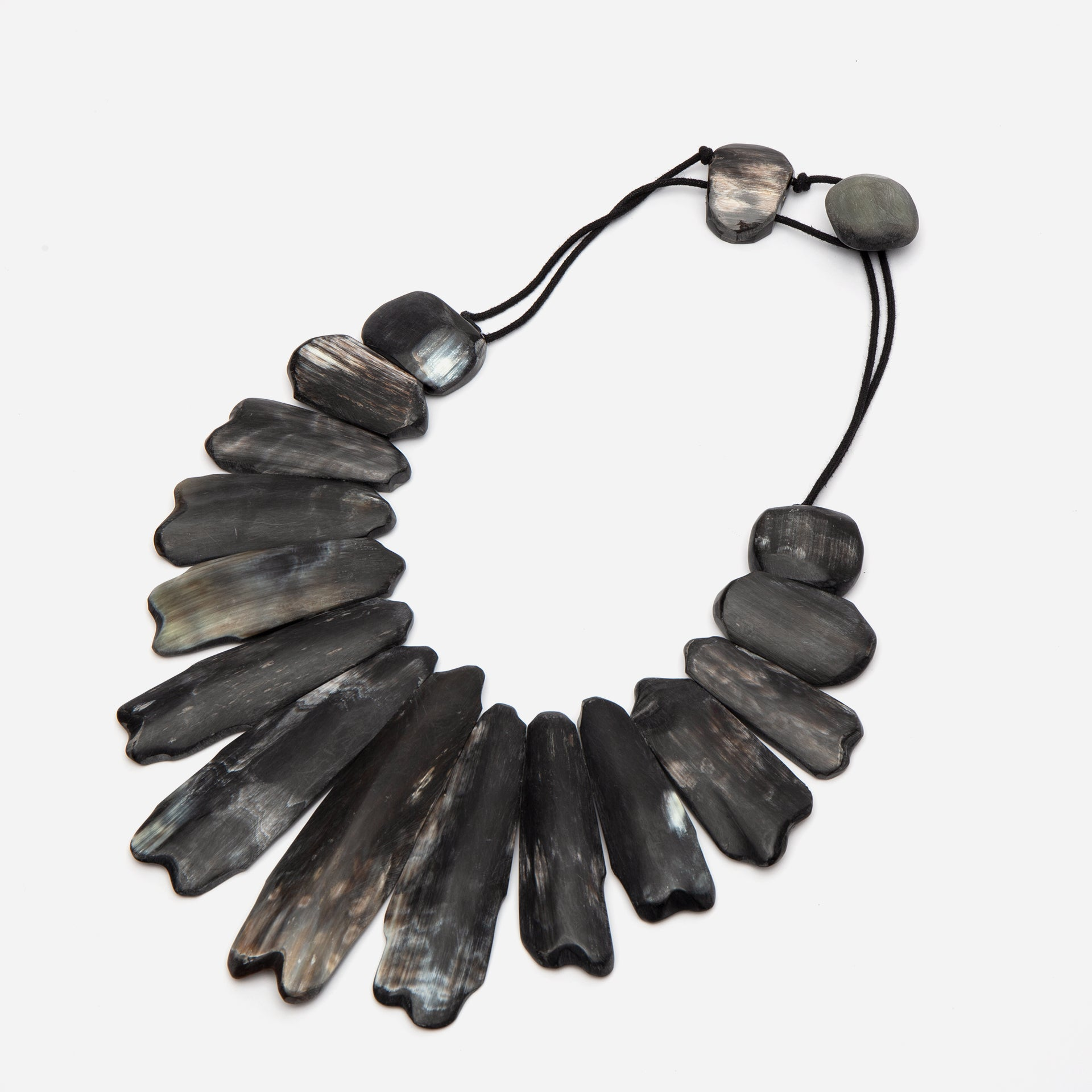Horn Necklace Black