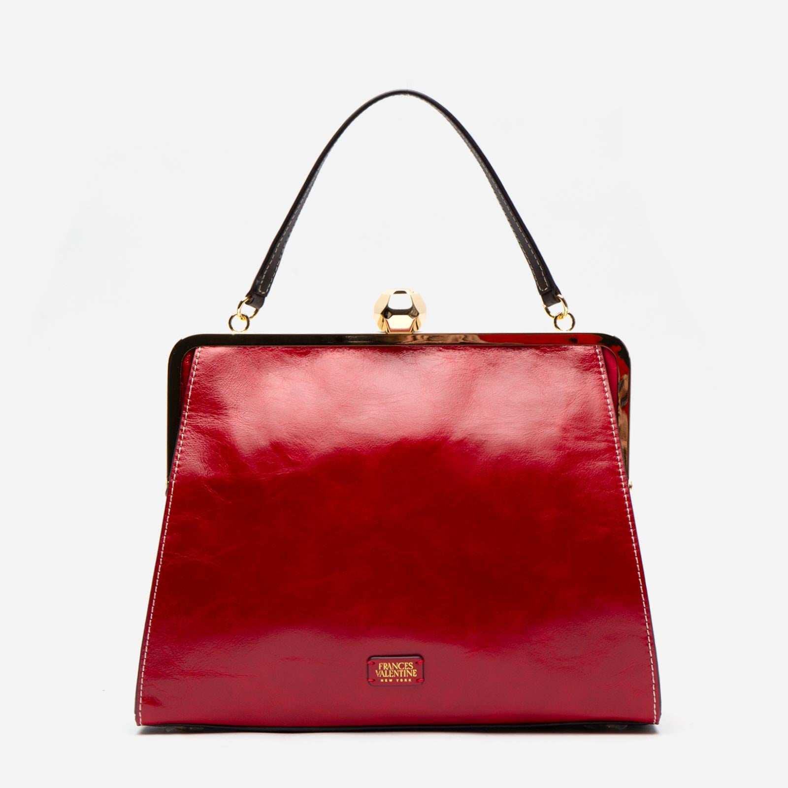 Jackie Naplak Leather Red Pink
