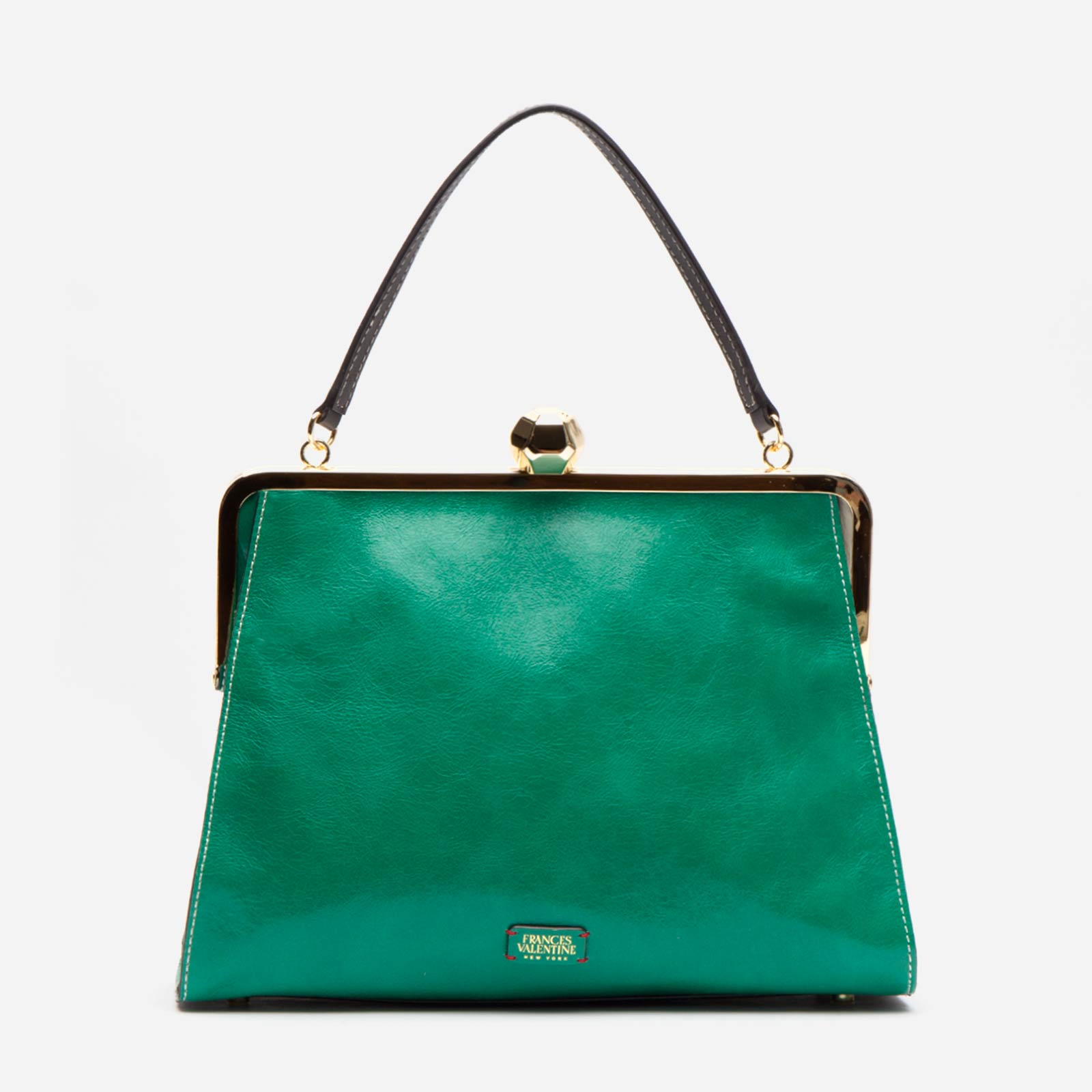 Jackie Naplak Leather Green Oyster