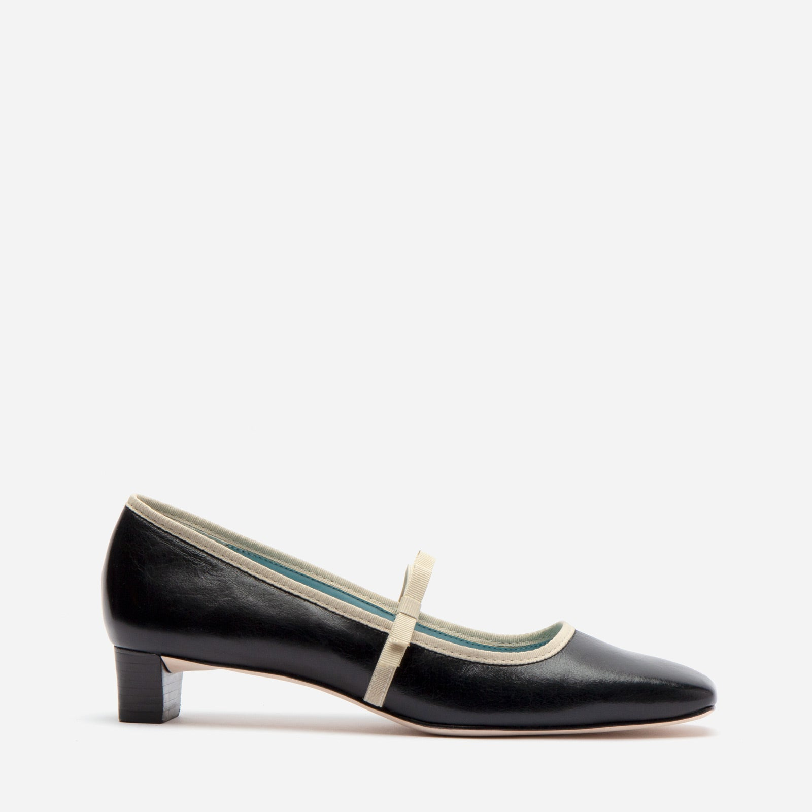 Jude Heel Naplak Leather Black - Frances Valentine