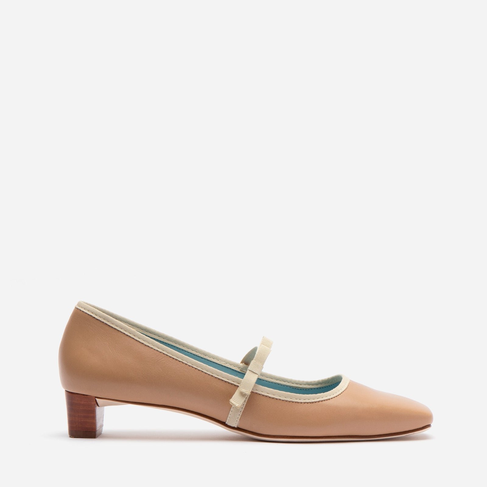 Jude Heel Naplak Leather Camel