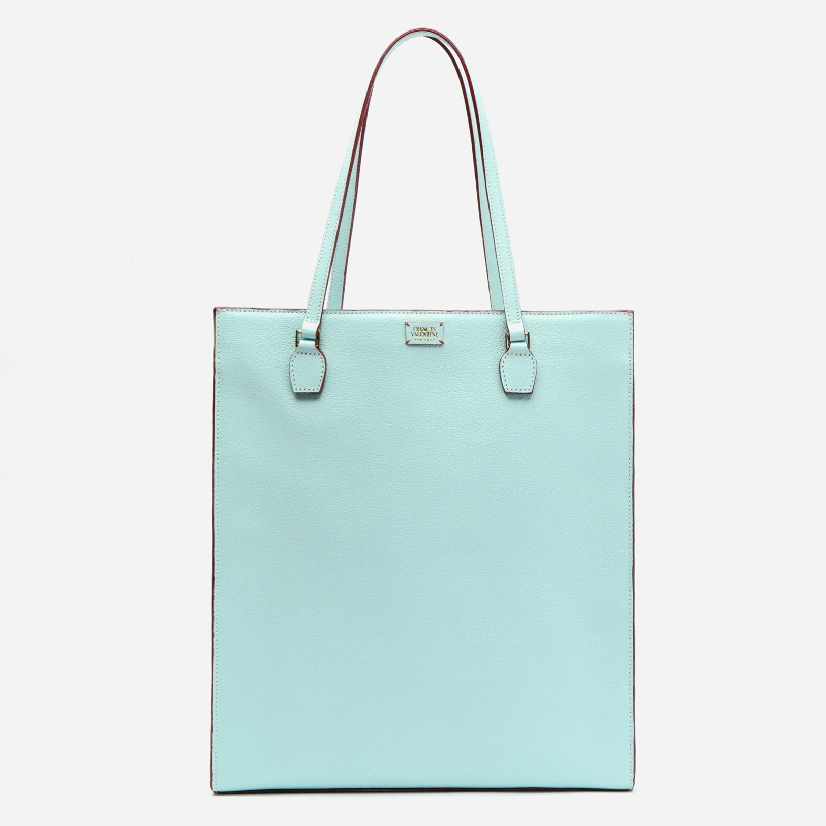 Julia Shopper Boarskin Light Blue - Frances Valentine