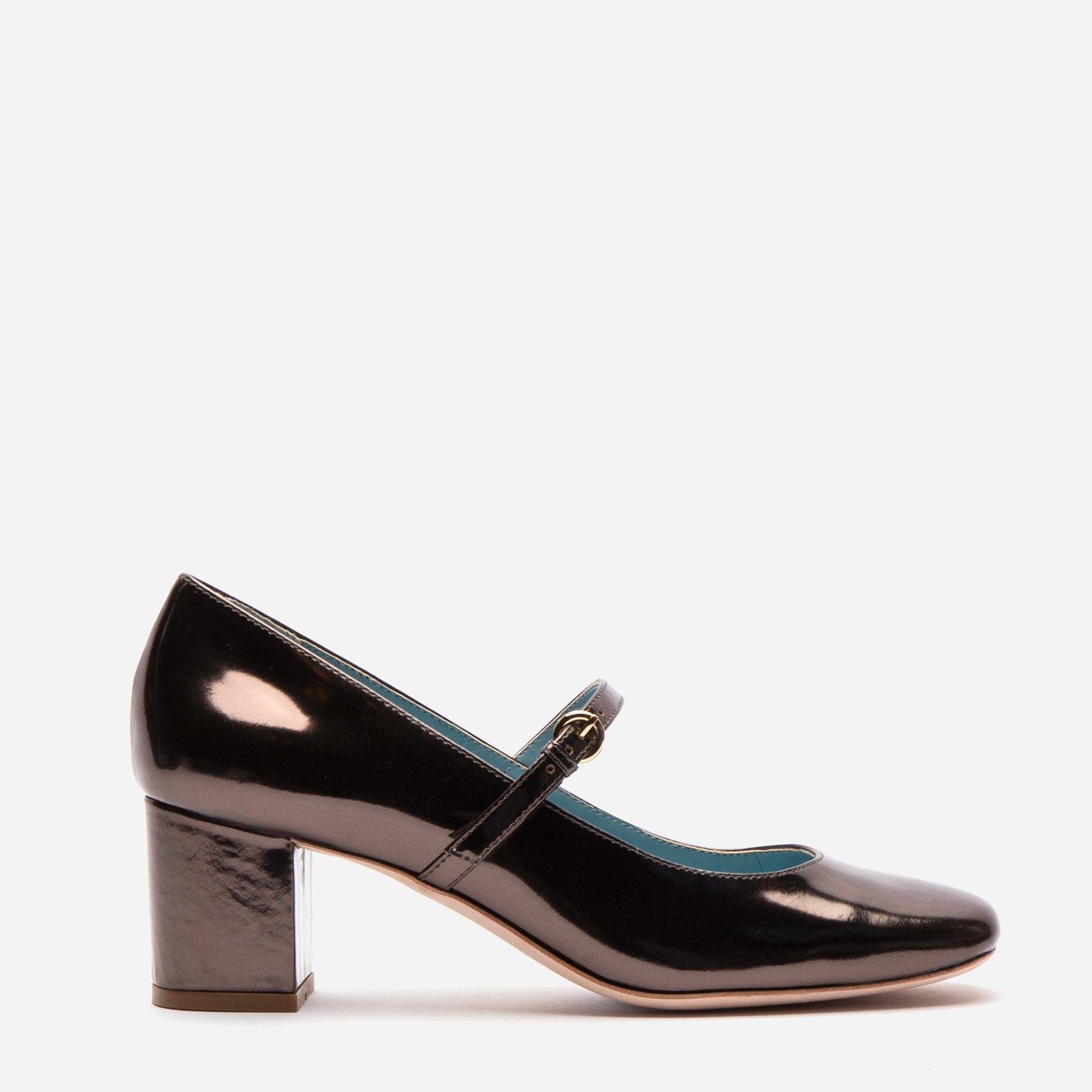 Kat Mary Jane Heels Specchio Anthracite