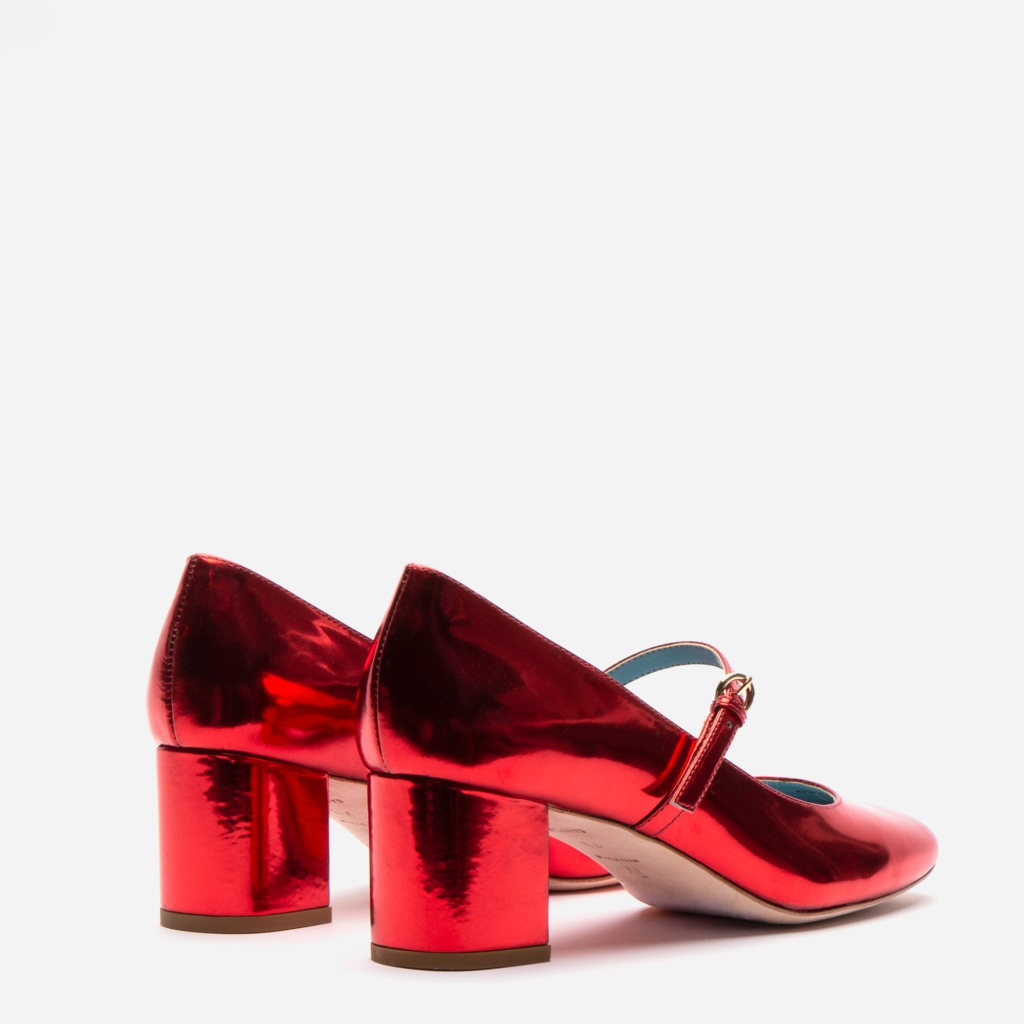 Kat Mary Jane Heels Specchio Red