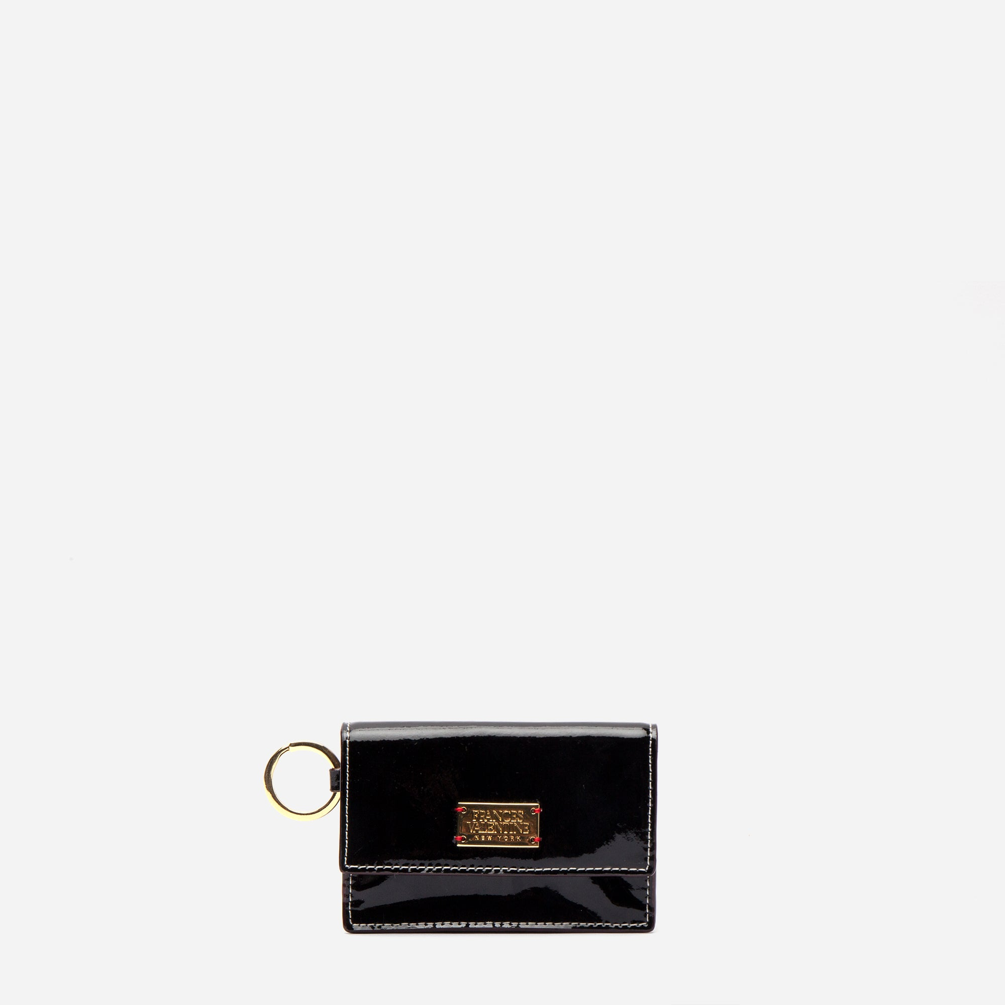 Key Fob Soft Patent Black Oyster