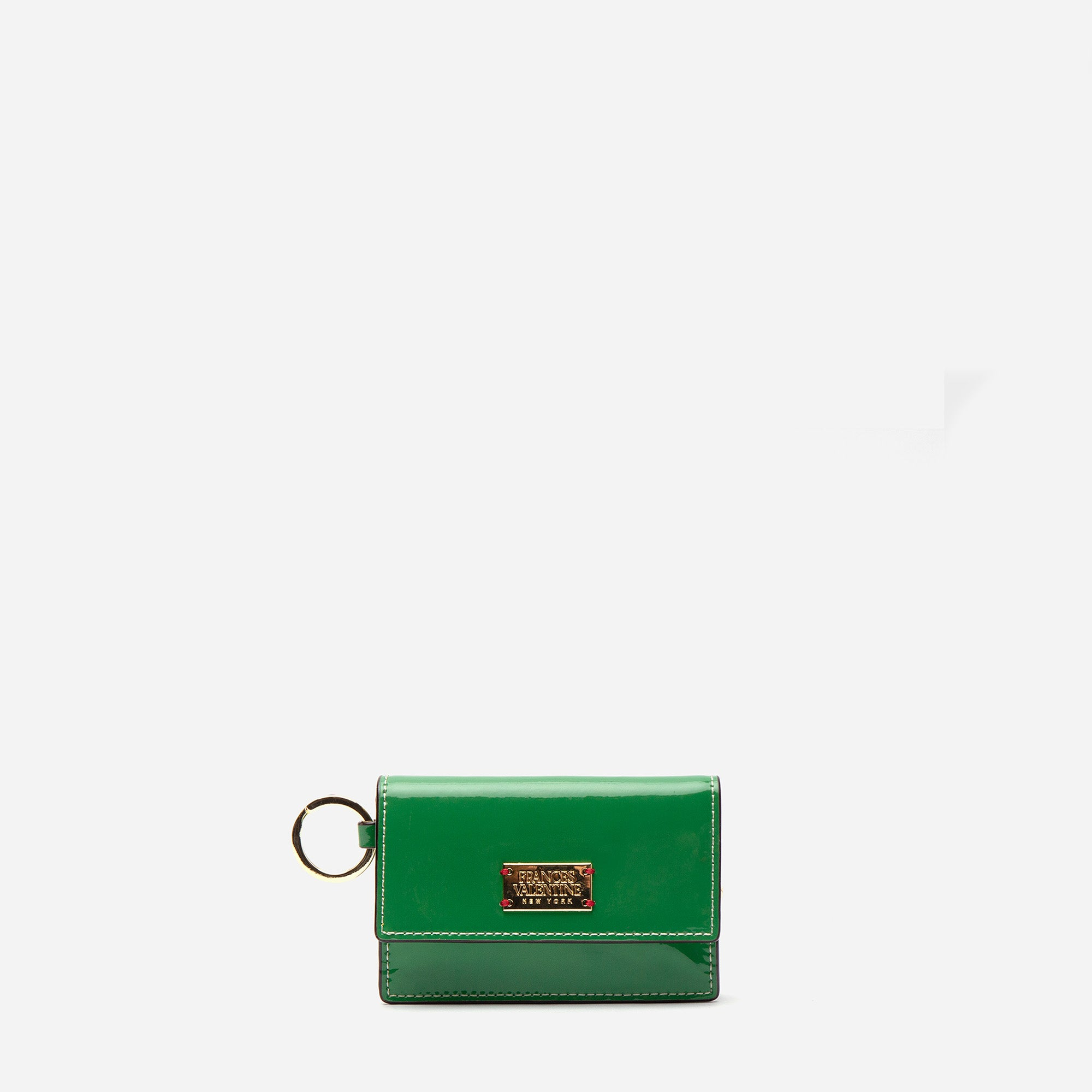Key Fob Soft Patent Green Yellow