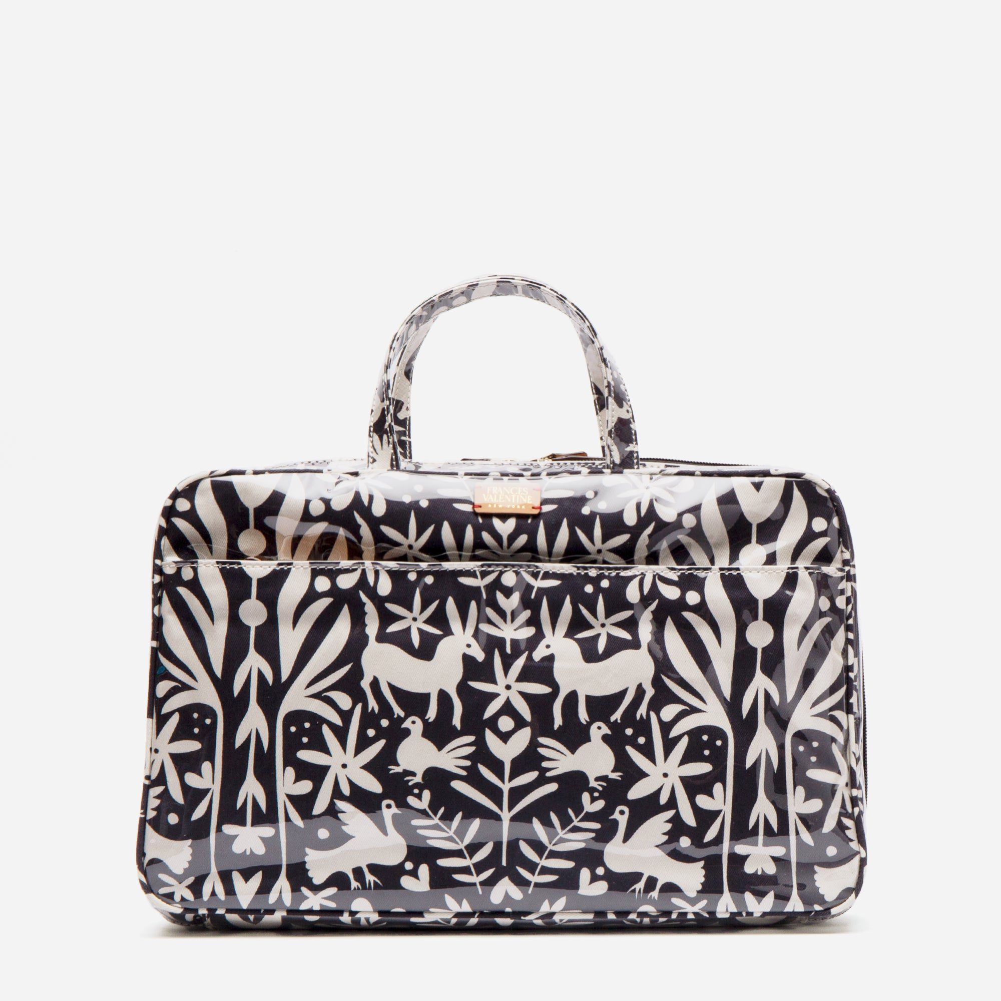 Travel Cosmetic Veracruz Print Black