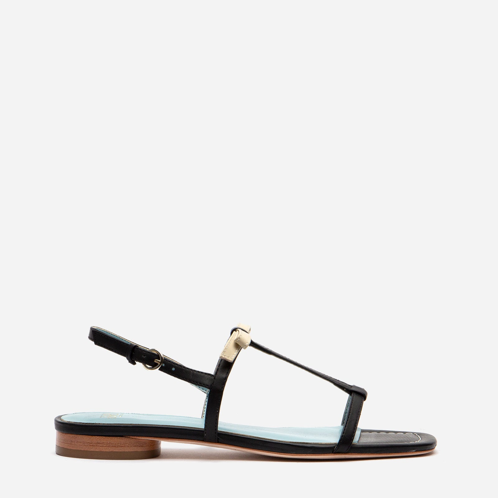 Lily Leather Slingback Sandal Black
