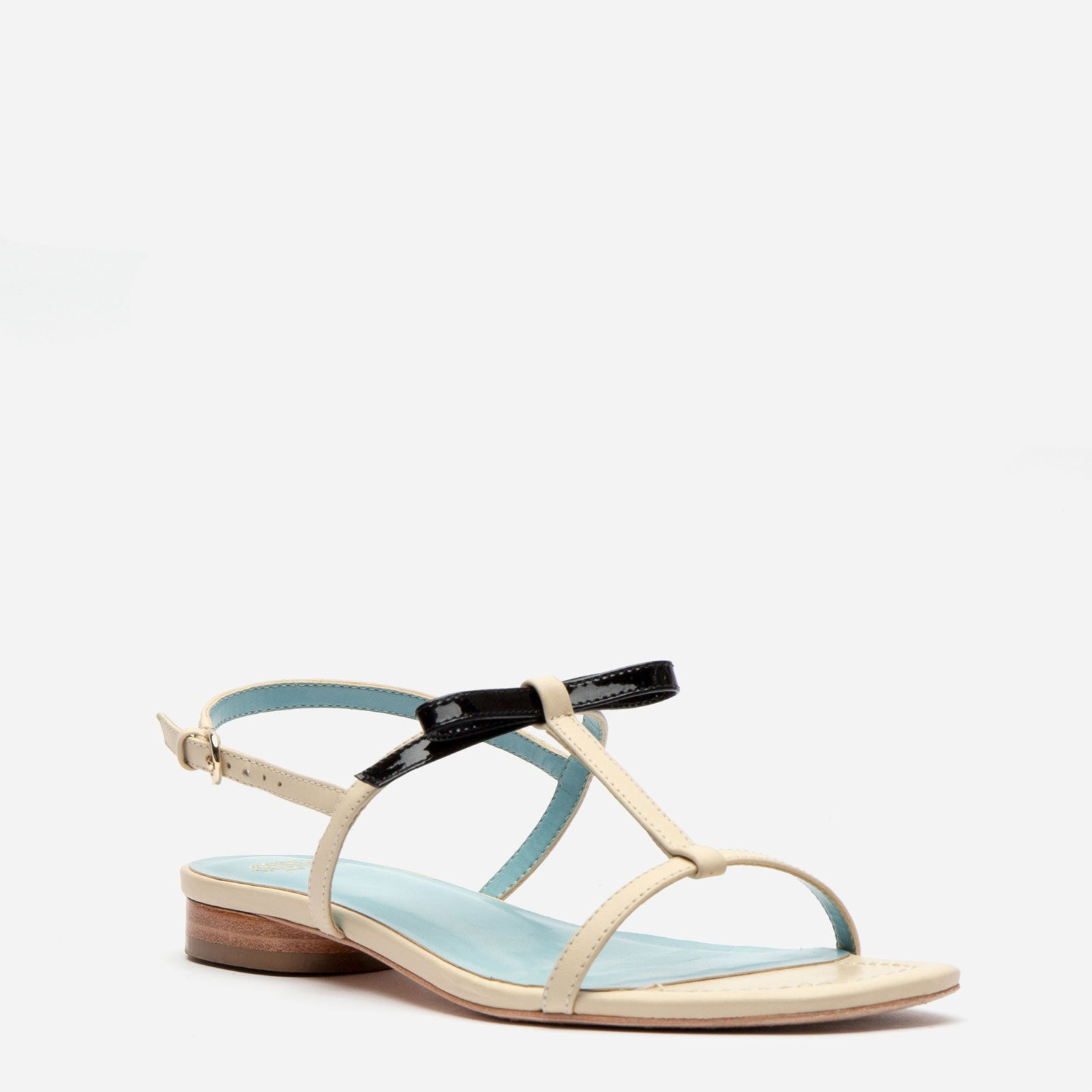Lily Leather Slingback Sandal Oyster
