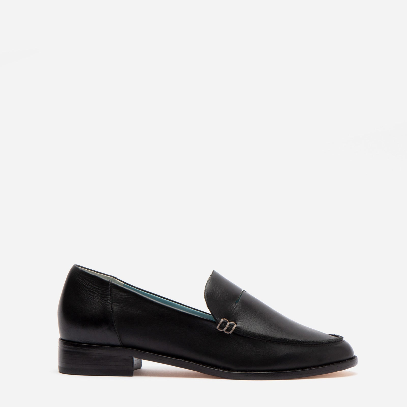 Penny Loafer Vachetta Leather Black - Frances Valentine