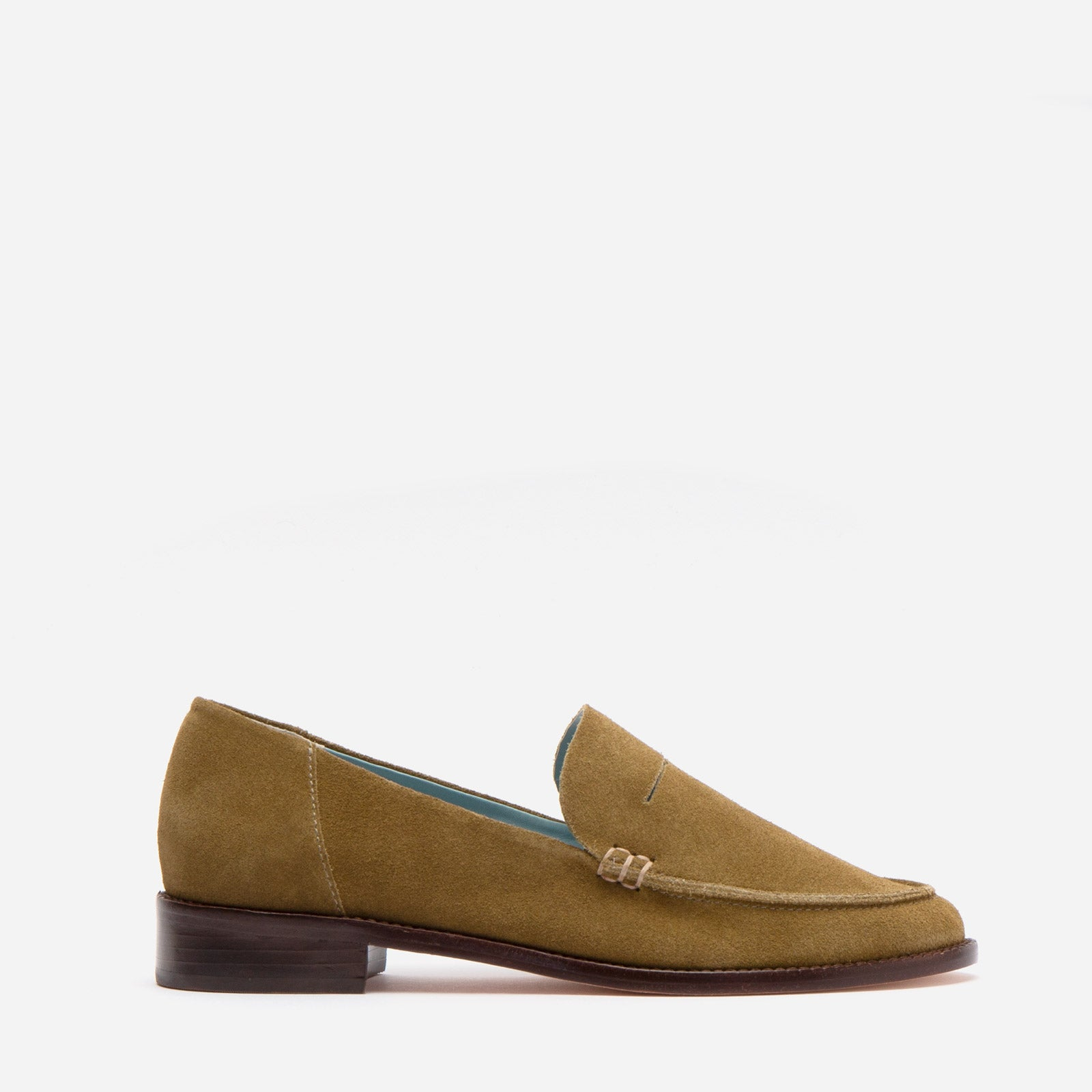 Penny Loafer Suede Moss