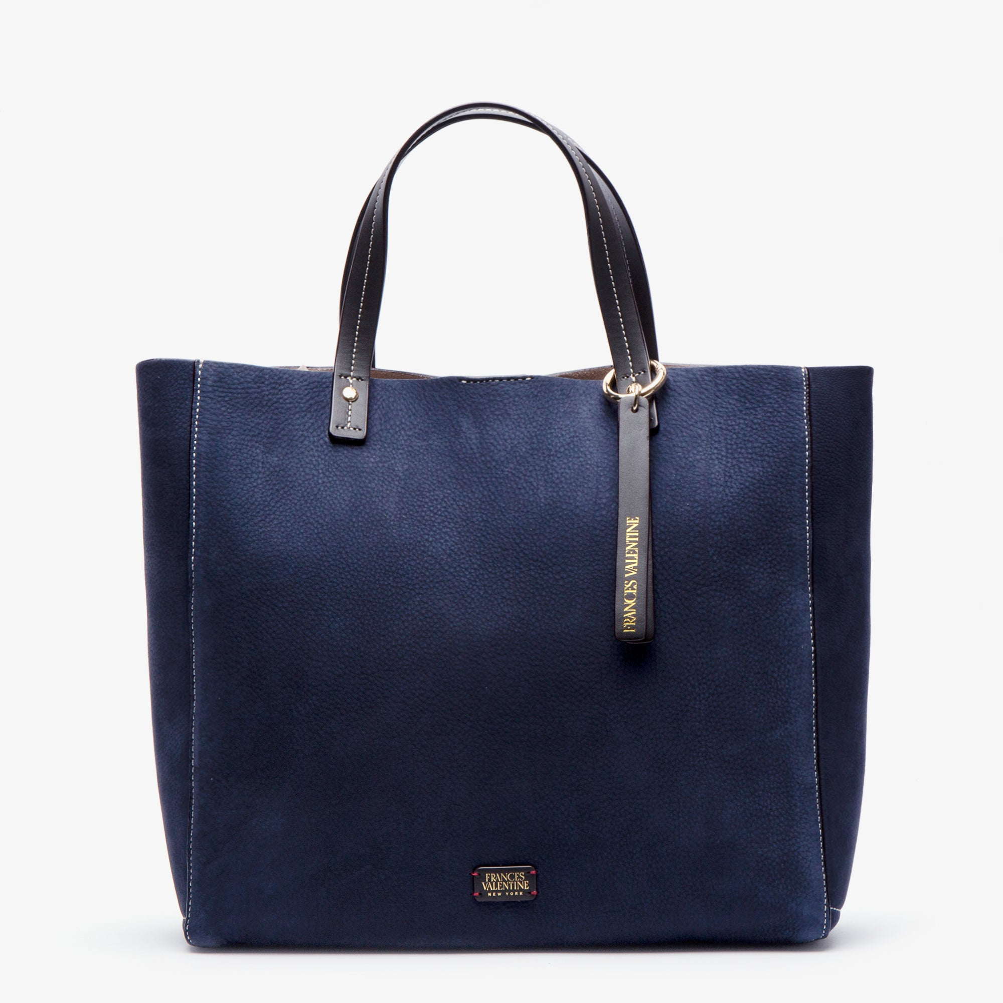 Large Margaret Tumbled Nubuck Navy