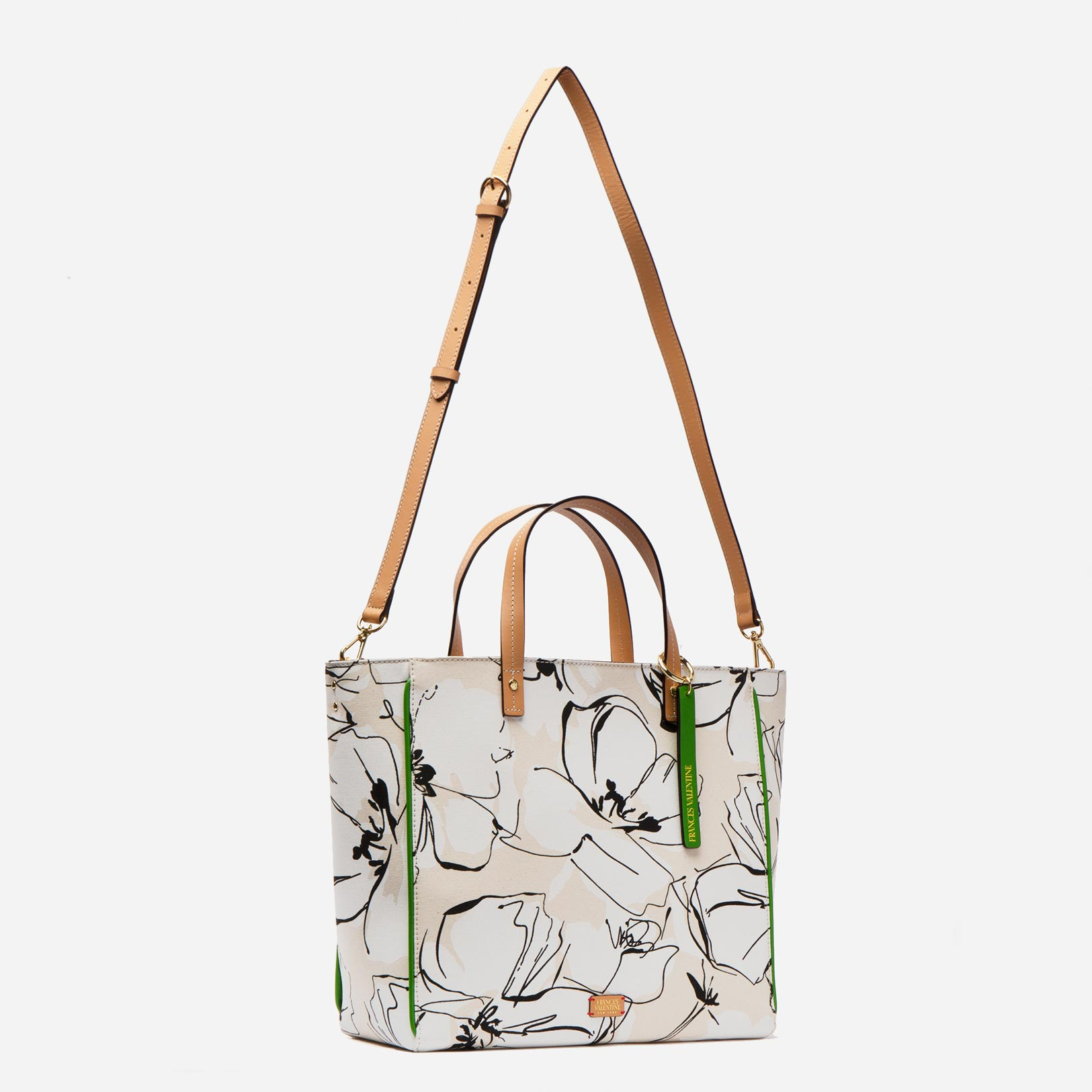 Large Margaret Tote Ravello Flower Canvas