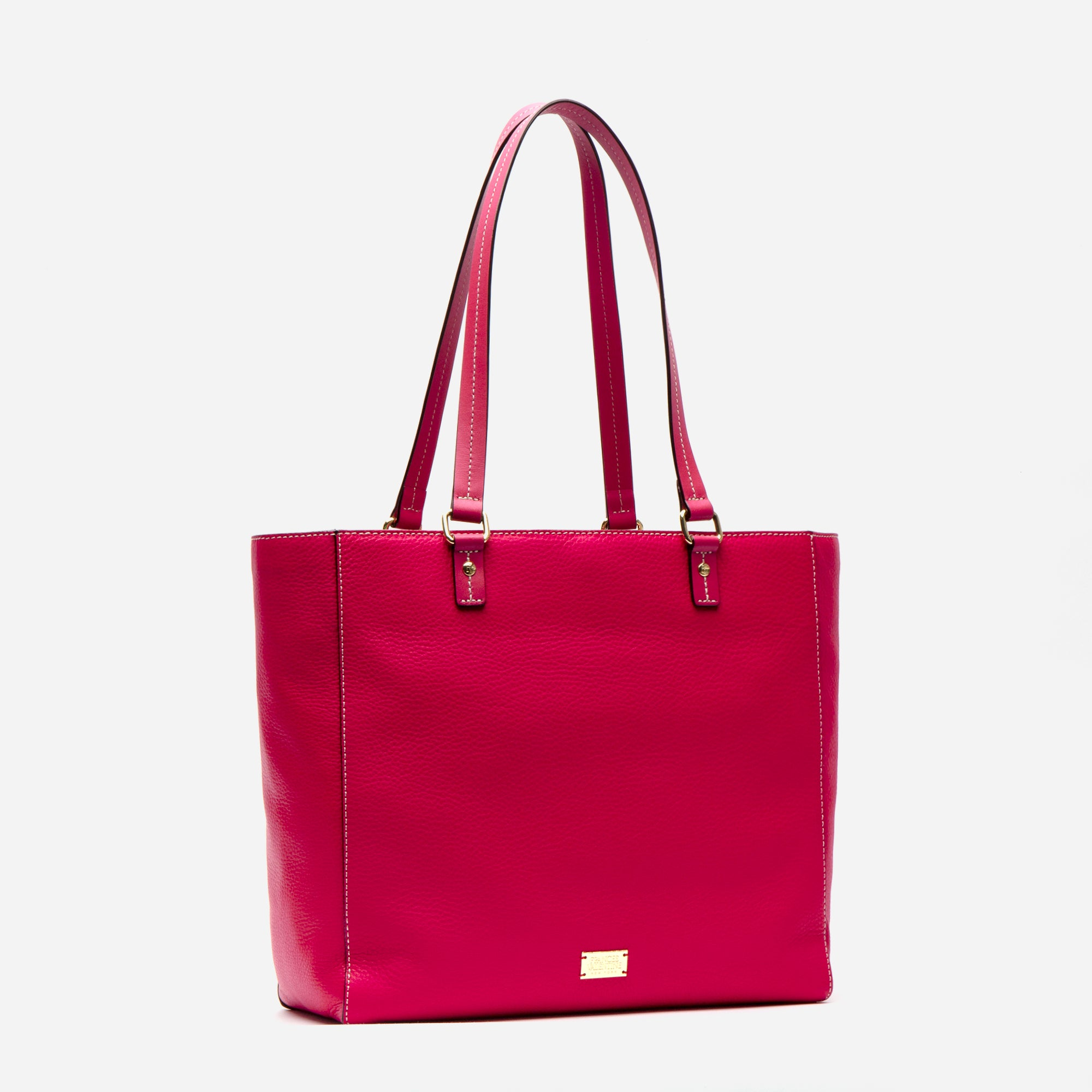 Margie Tote Tumbled Leather Pink