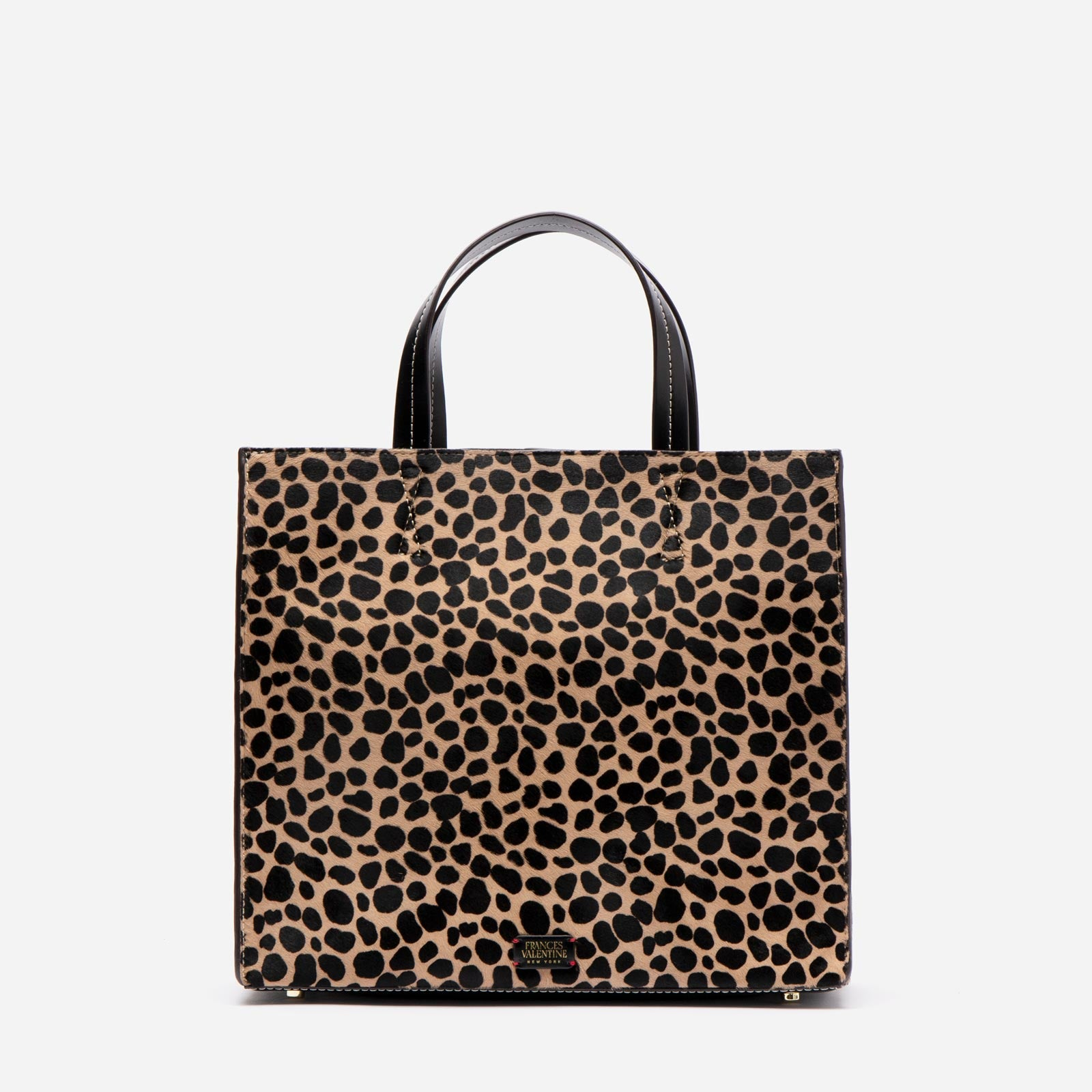 Margo Tote Printed Haircalf Cheetah - Frances Valentine