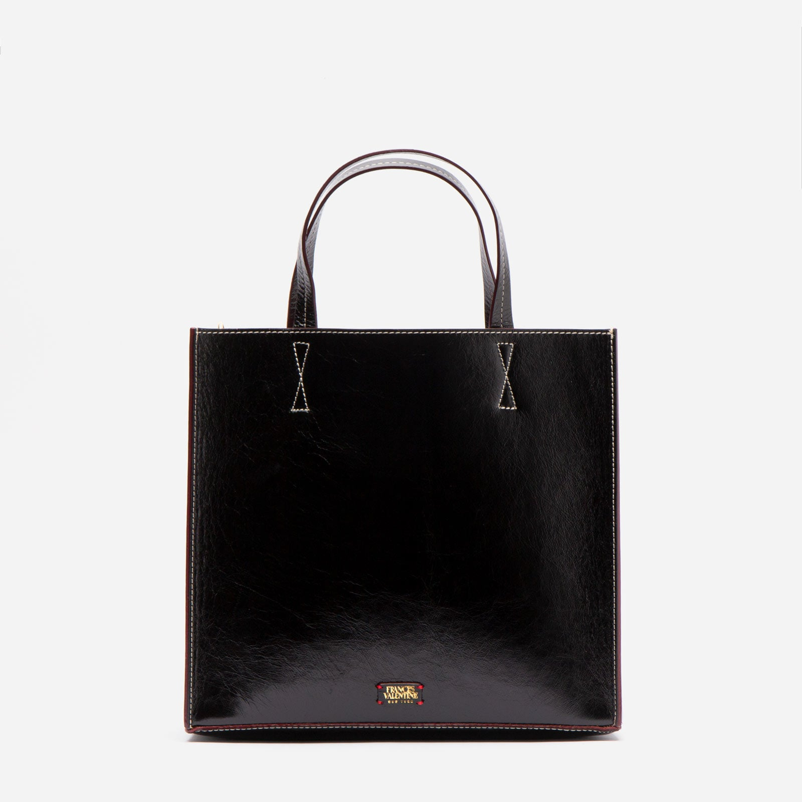 Margo Tote Naplak Leather Black Grey