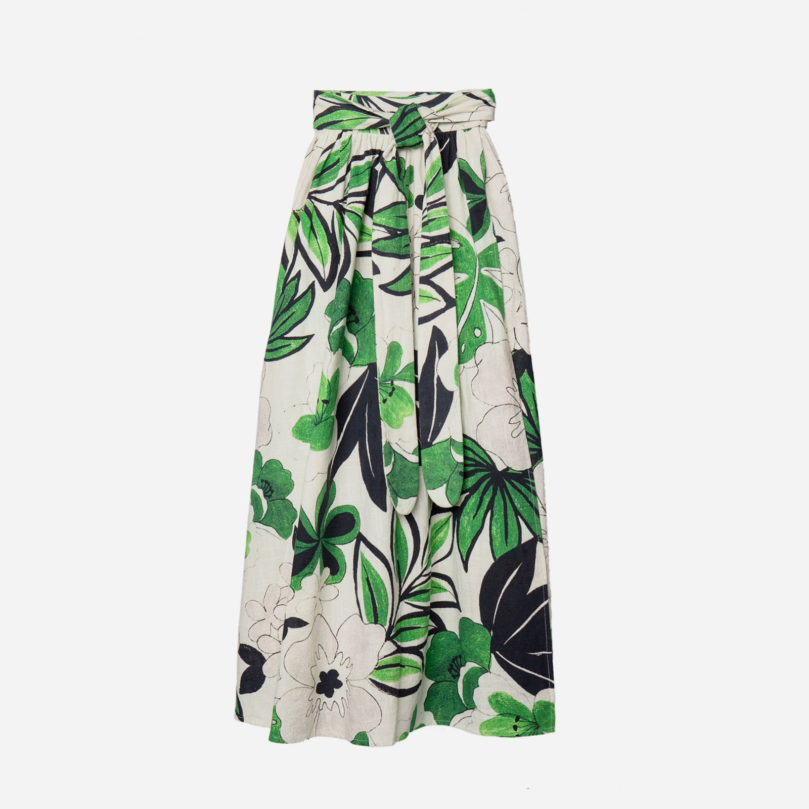Wrap Skirt Merida Leaf - Frances Valentine