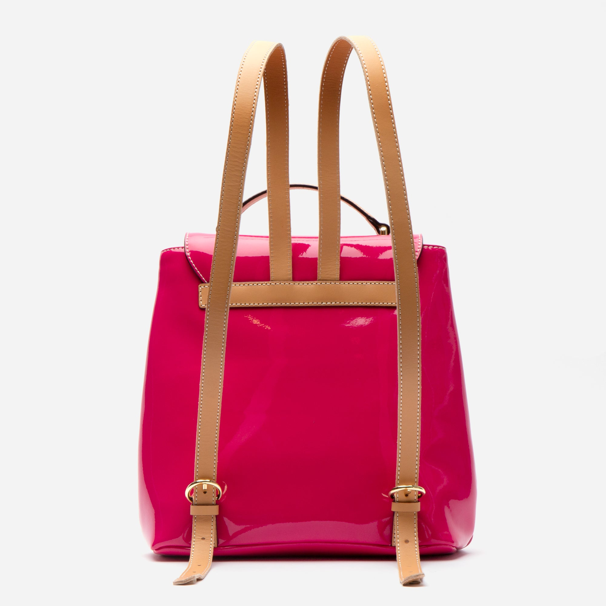 Midge Backpack Soft Patent Pink