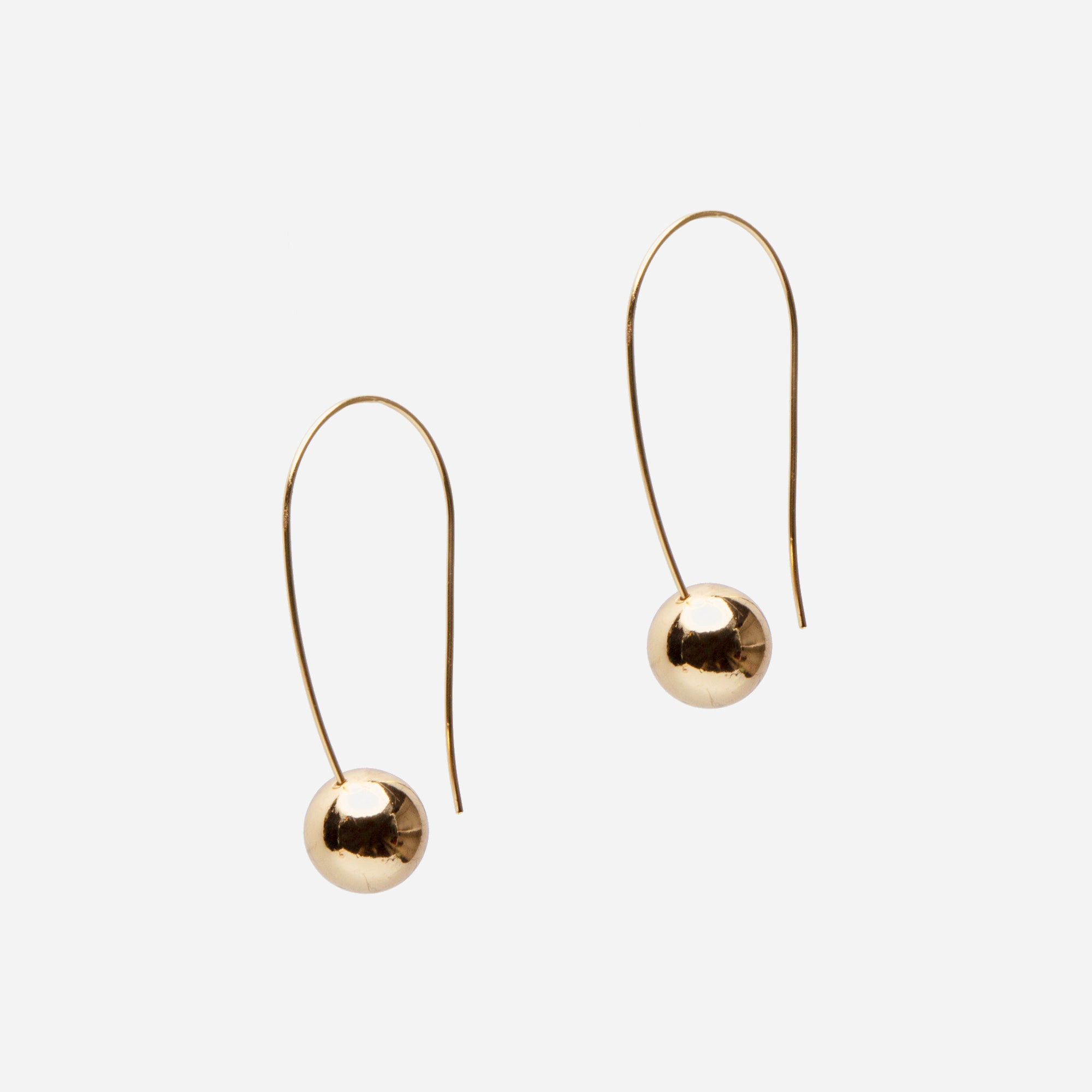 Gold Mobile Earrings