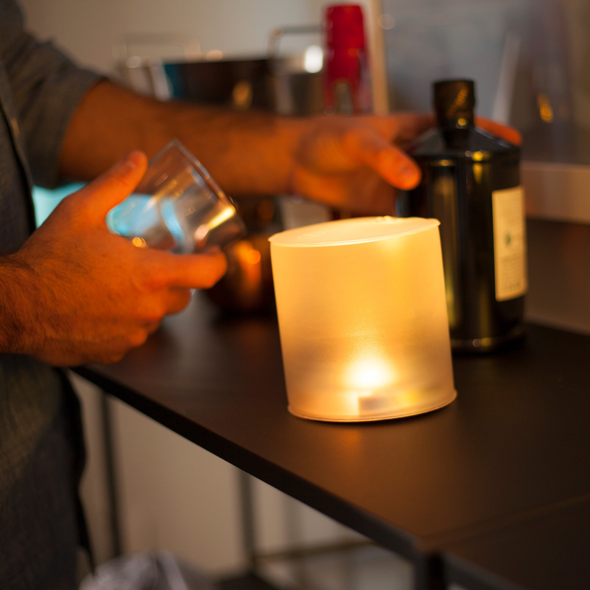 Luci Solar Candle