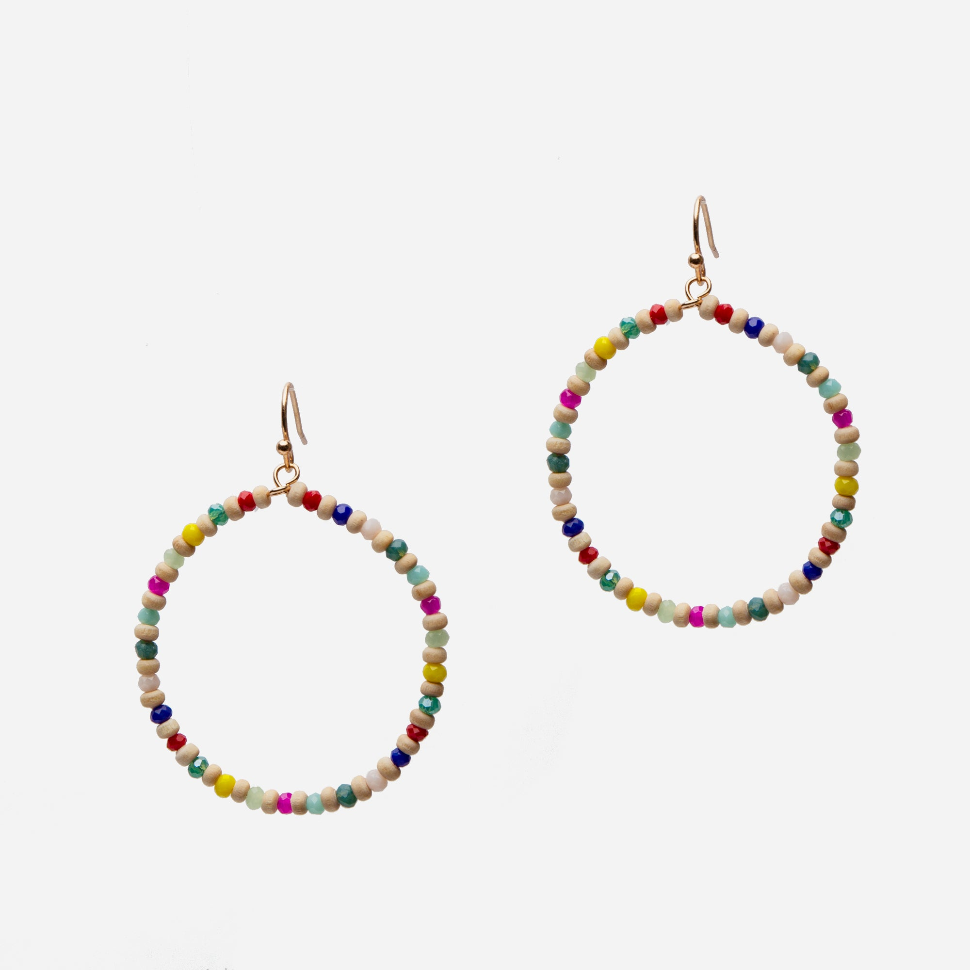 Carnival Hoop Earrings