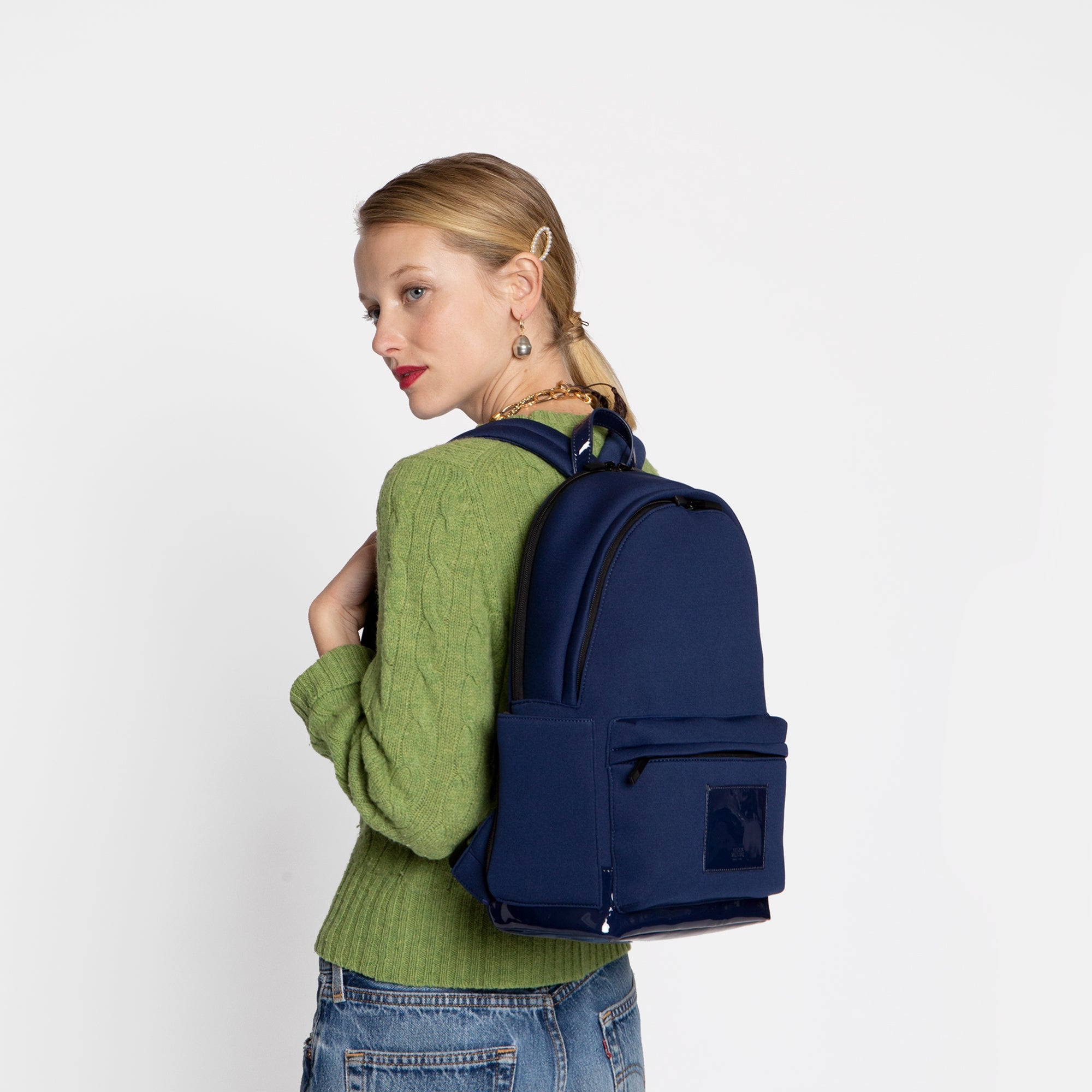 Neoprene Backpack Navy