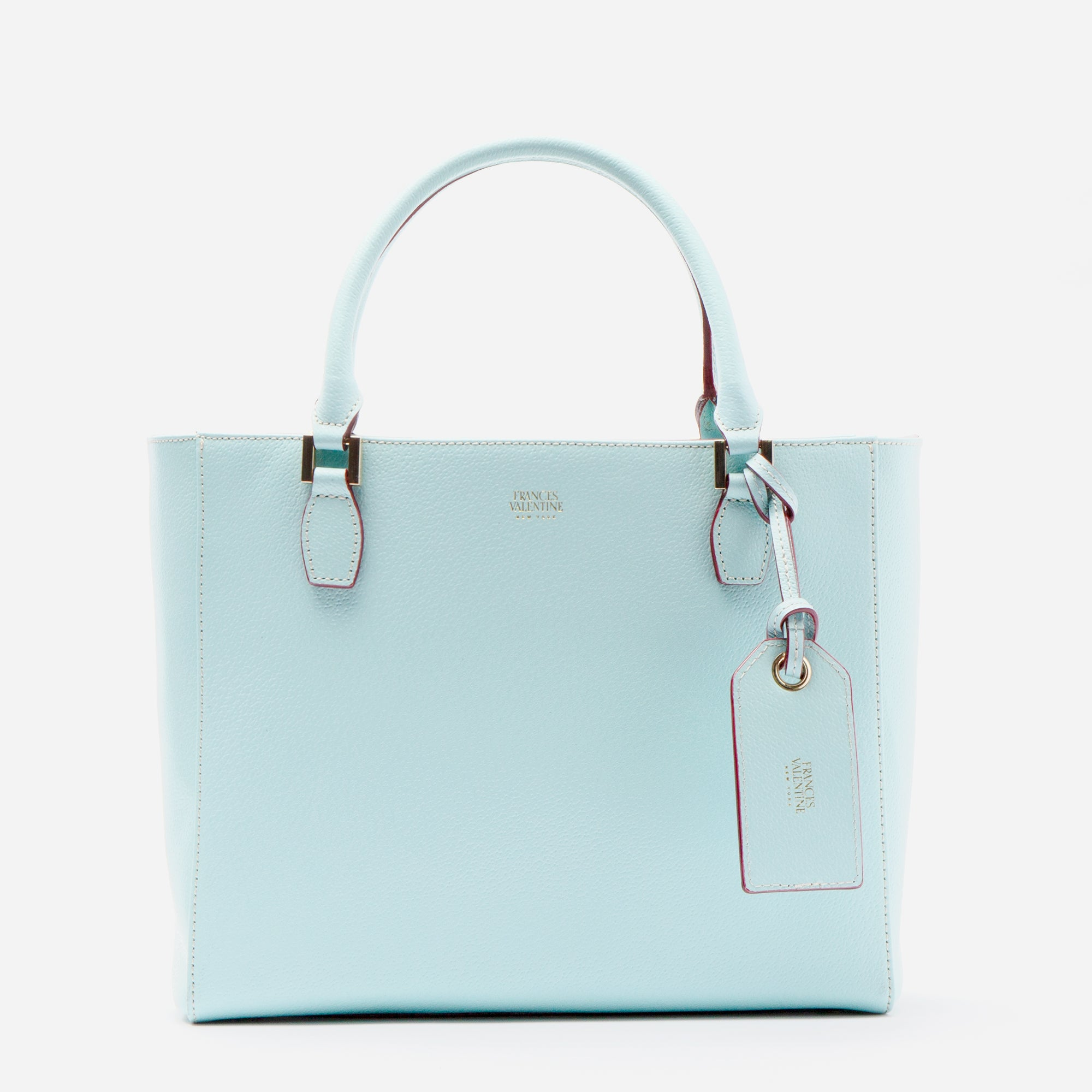 Olivia Tote Boarskin Light Blue