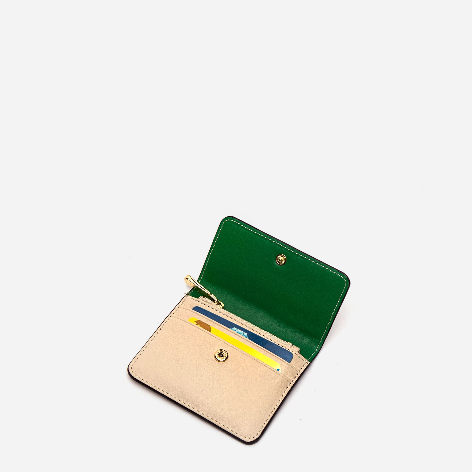 Susan B. Anthony Wallet Oyster Green