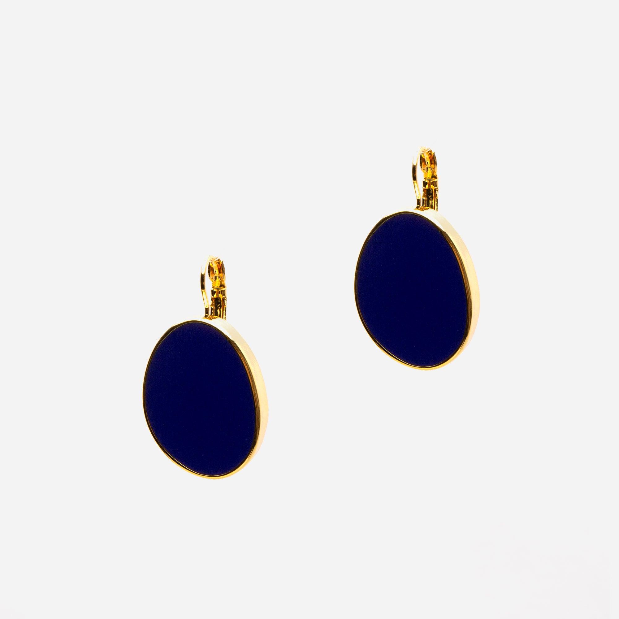 Navy Palette Earrings - Frances Valentine