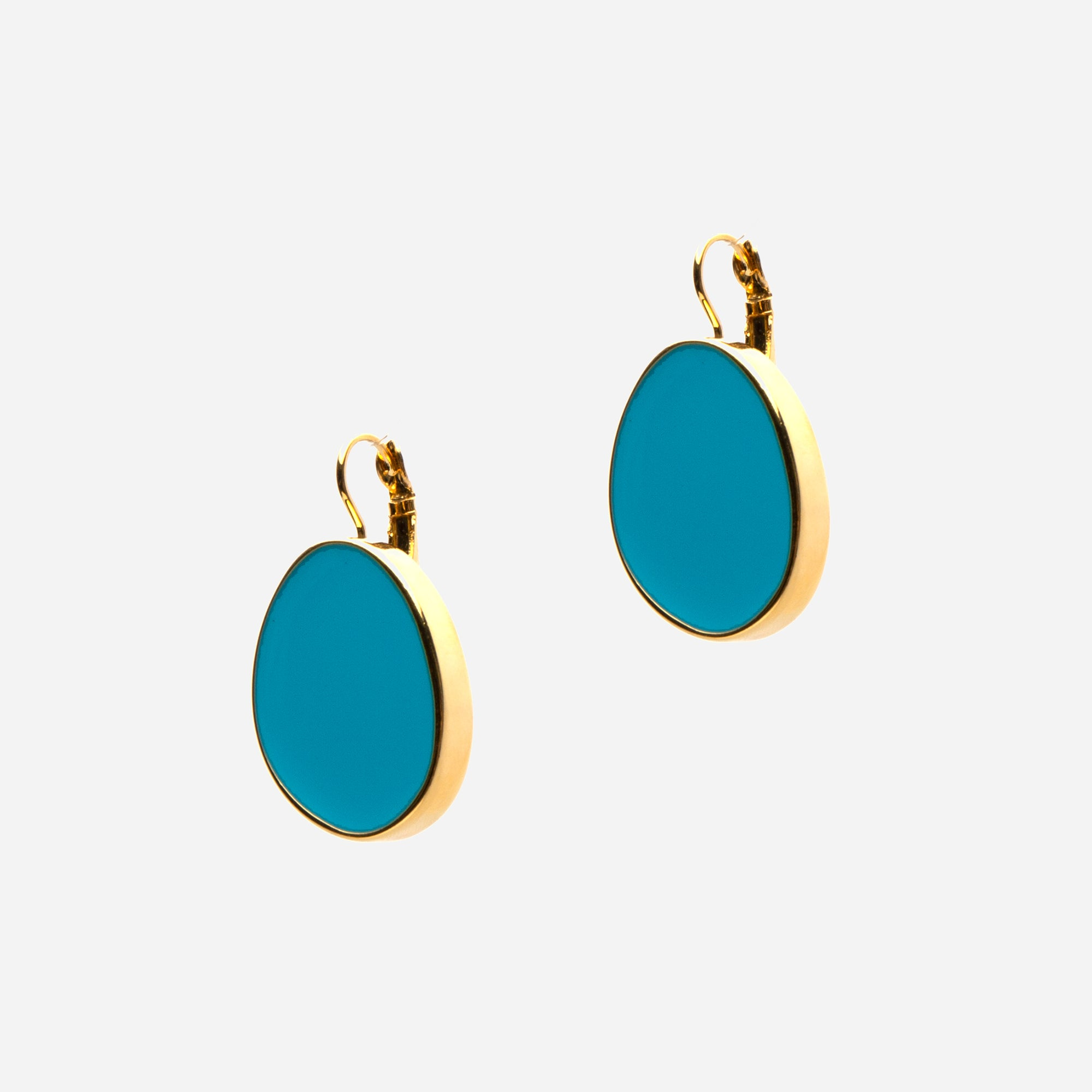 Turquoise Palette Earrings - Frances Valentine