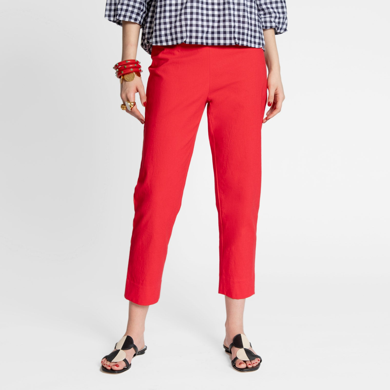 Petrie Pant Red