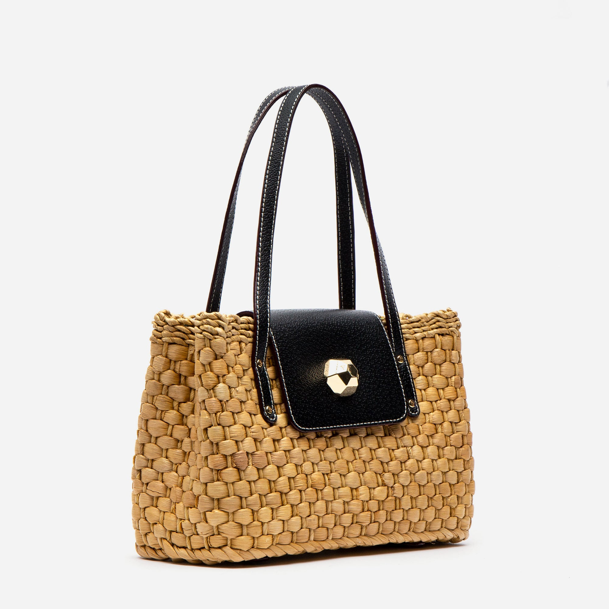 Gigi Basket Bag Black