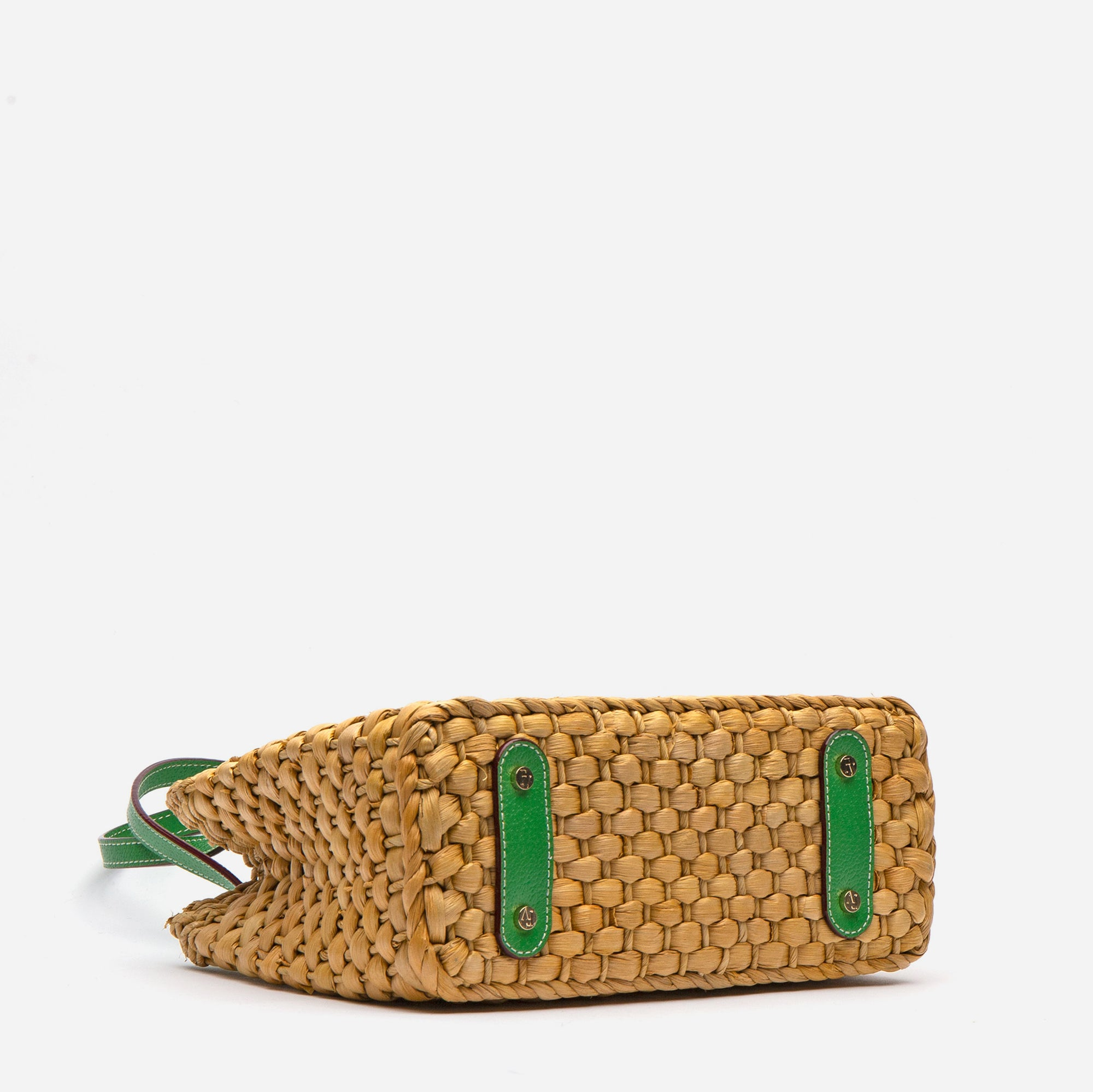 Gigi Basket Bag Green