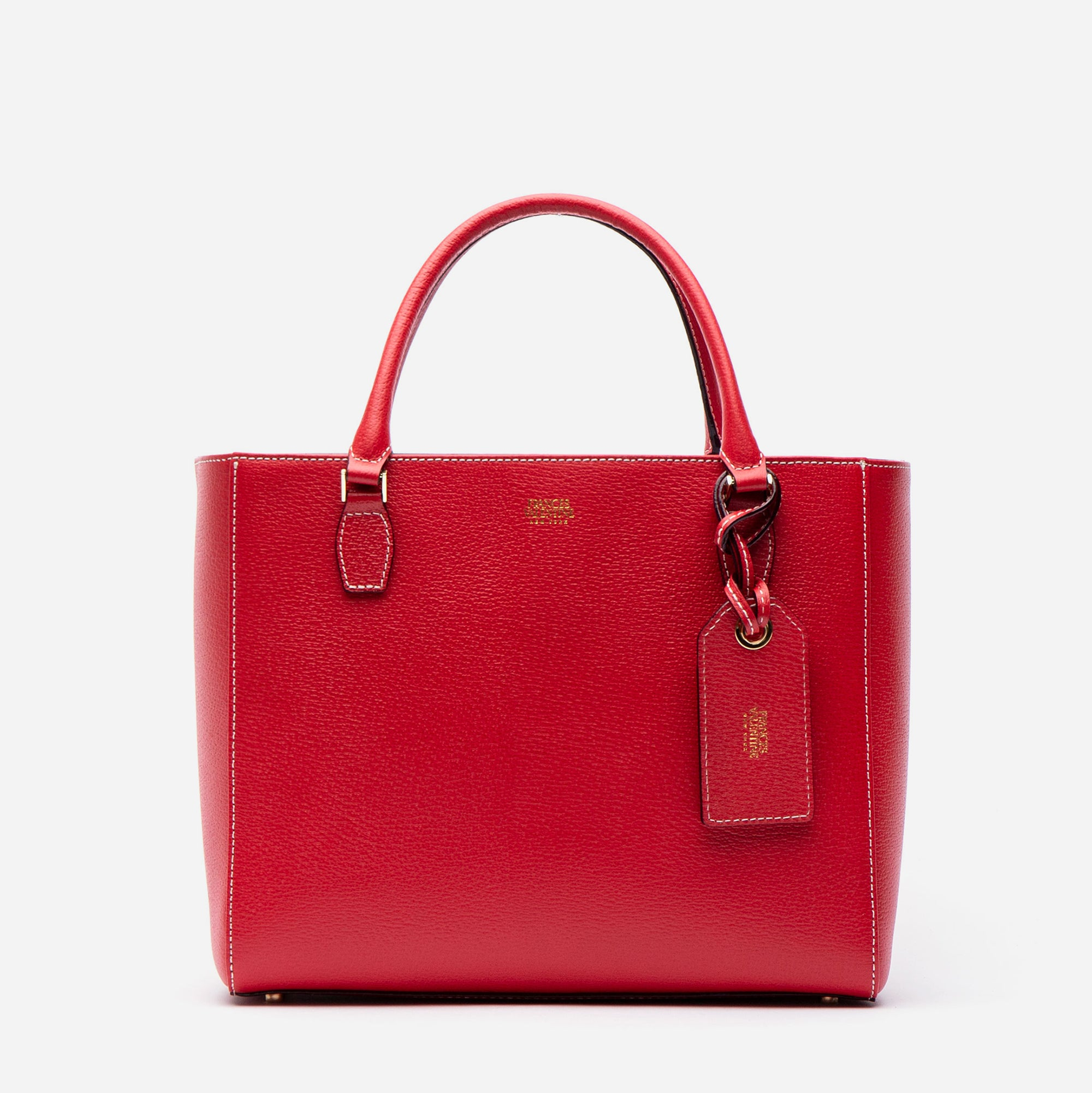 Olivia Tote Boarskin Red