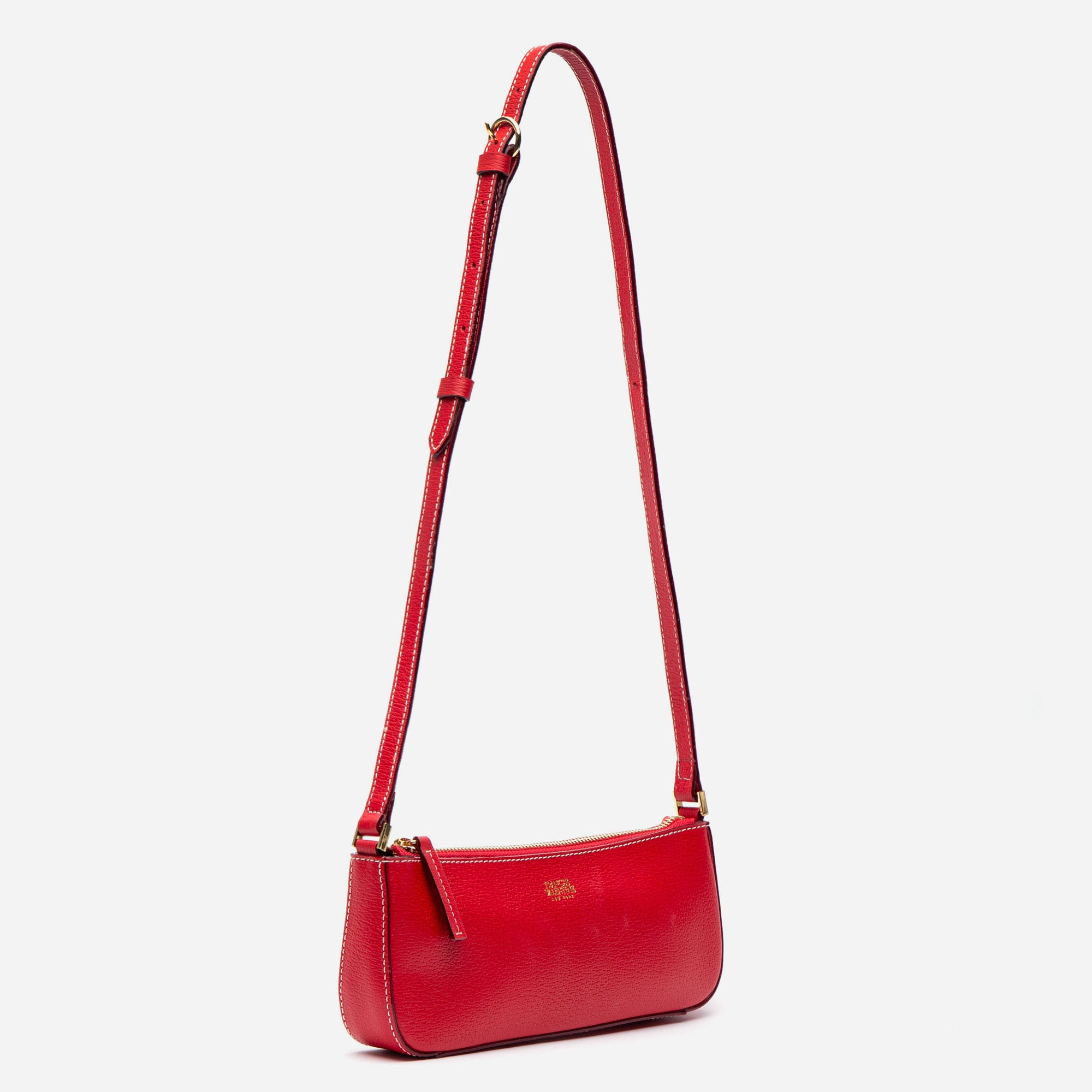 Pip Shoulder Bag Boarskin Red