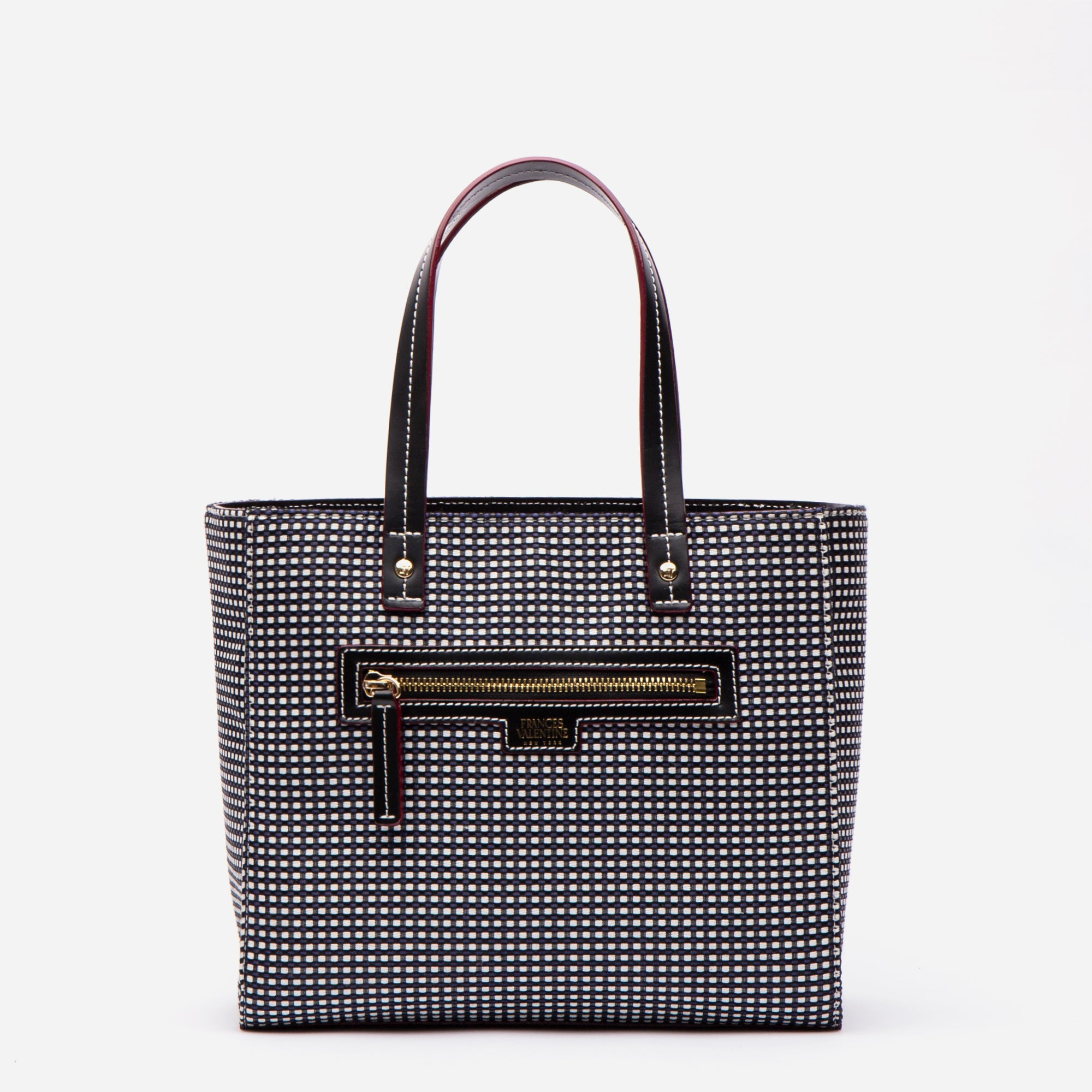 Small Henry Dot Jacquard