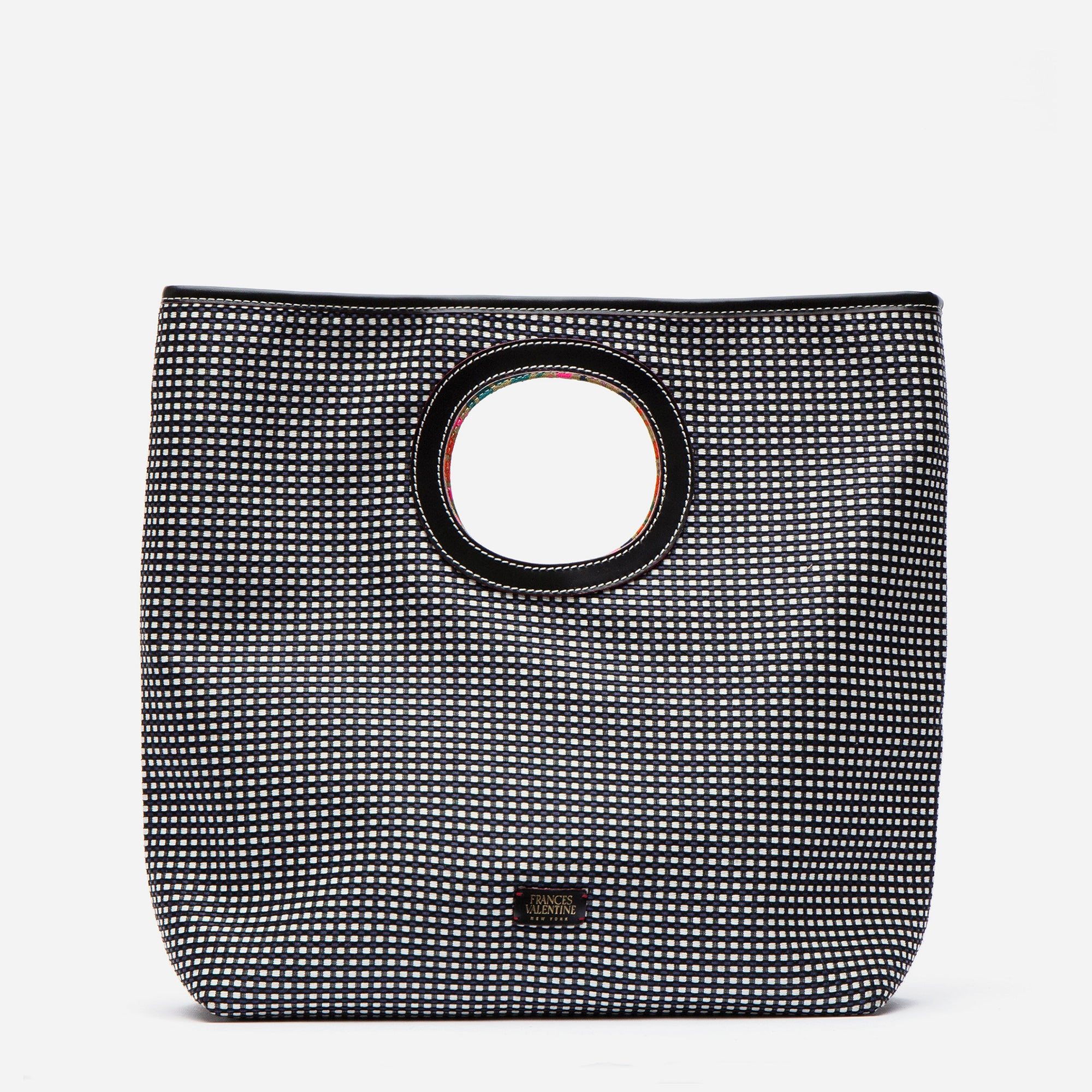 Jan Tote Dot Jacquard