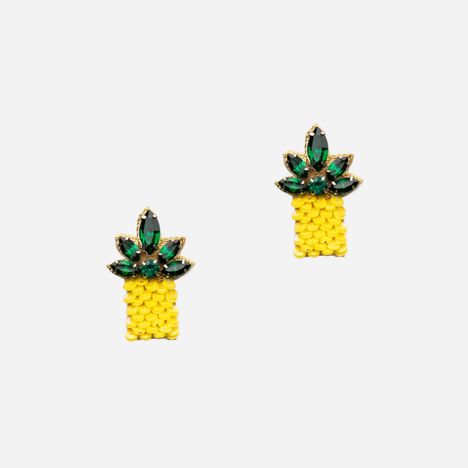 Pineapple Earring - Frances Valentine