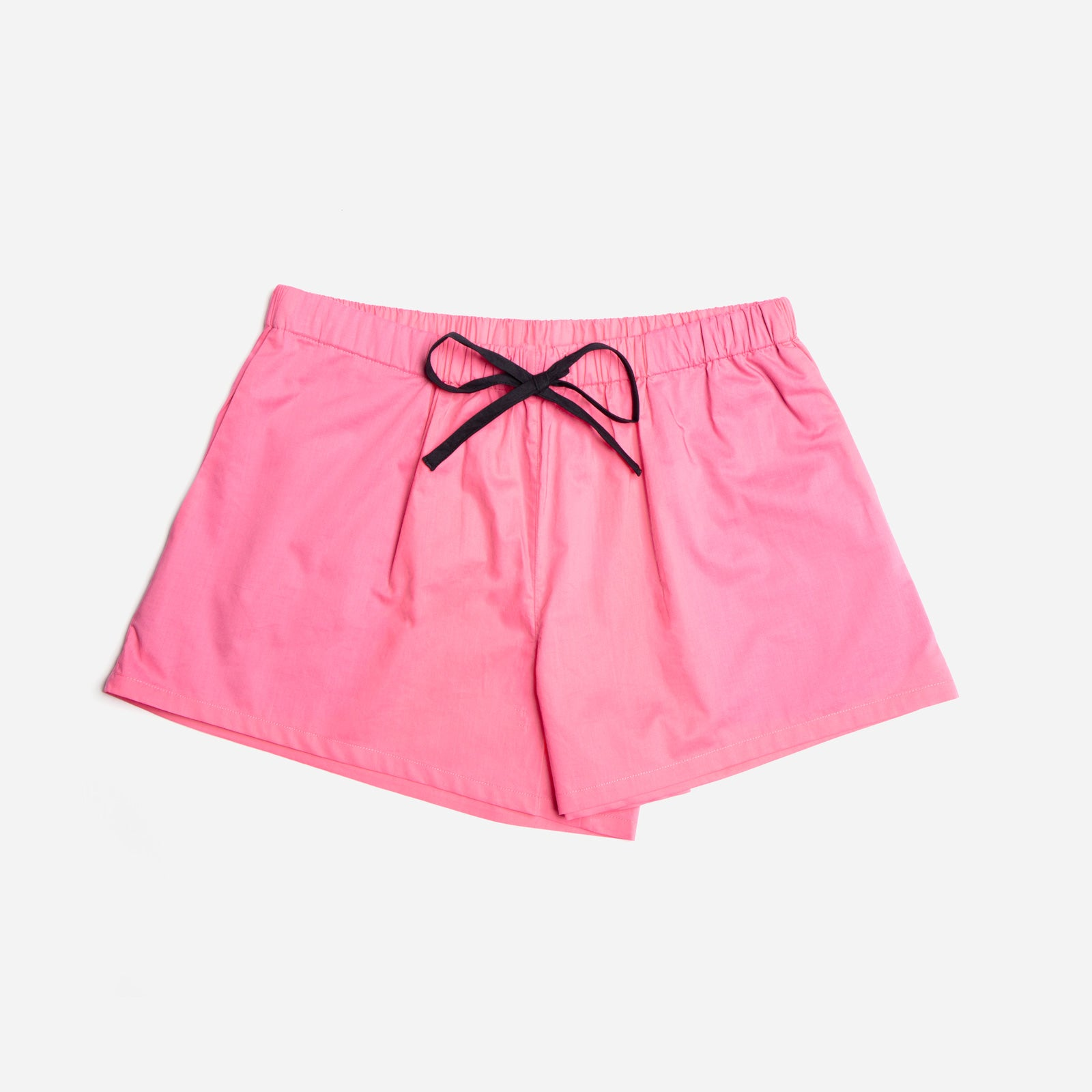 Teddy Pajama Short Pink
